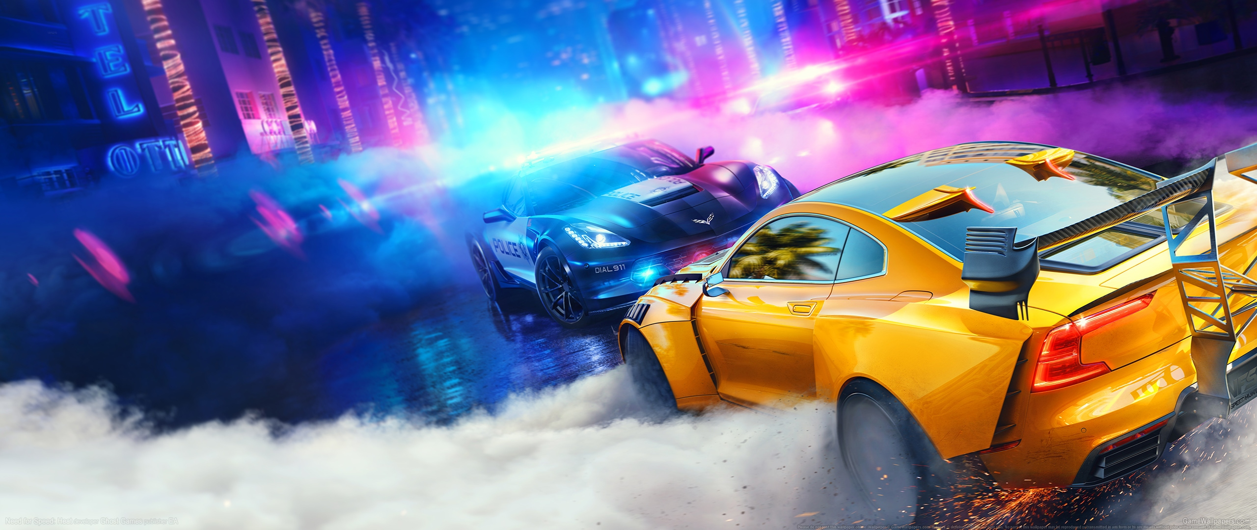 Need for Speed: Heat 2560x1080 Hintergrundbild 01