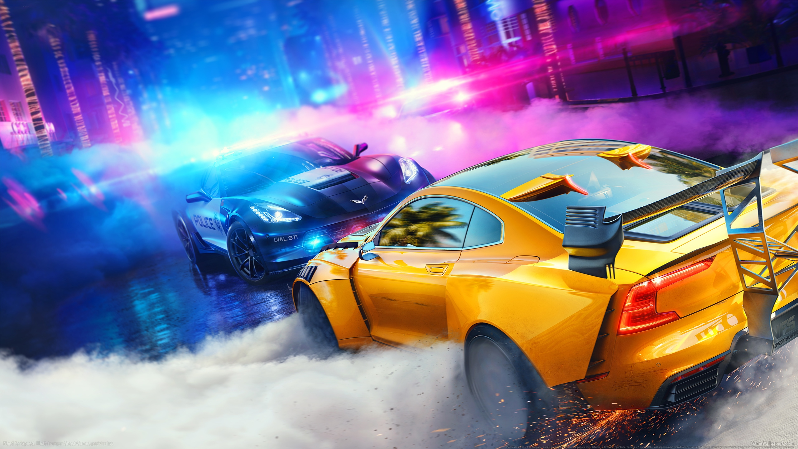 Need for Speed: Heat 2560x1440 fondo de escritorio 01