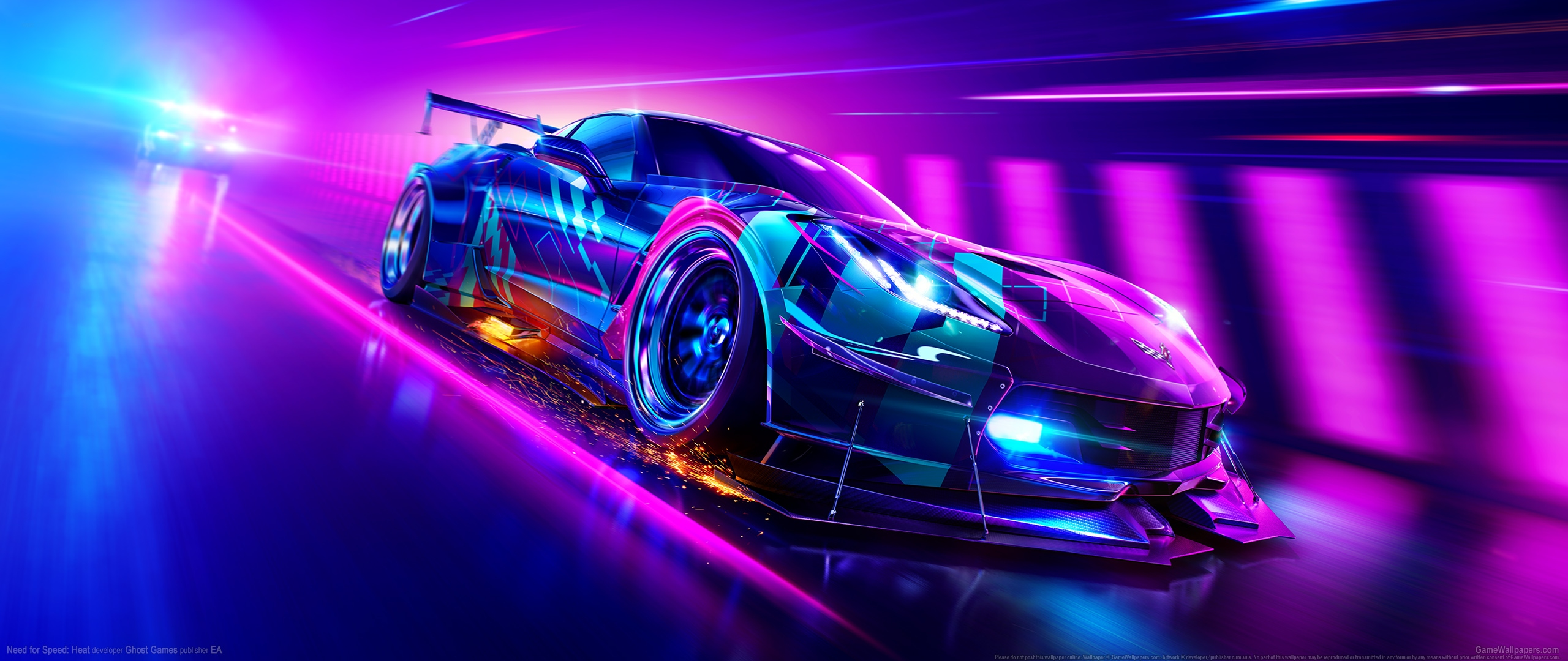 Need for Speed: Heat 2560x1080 wallpaper or background 03