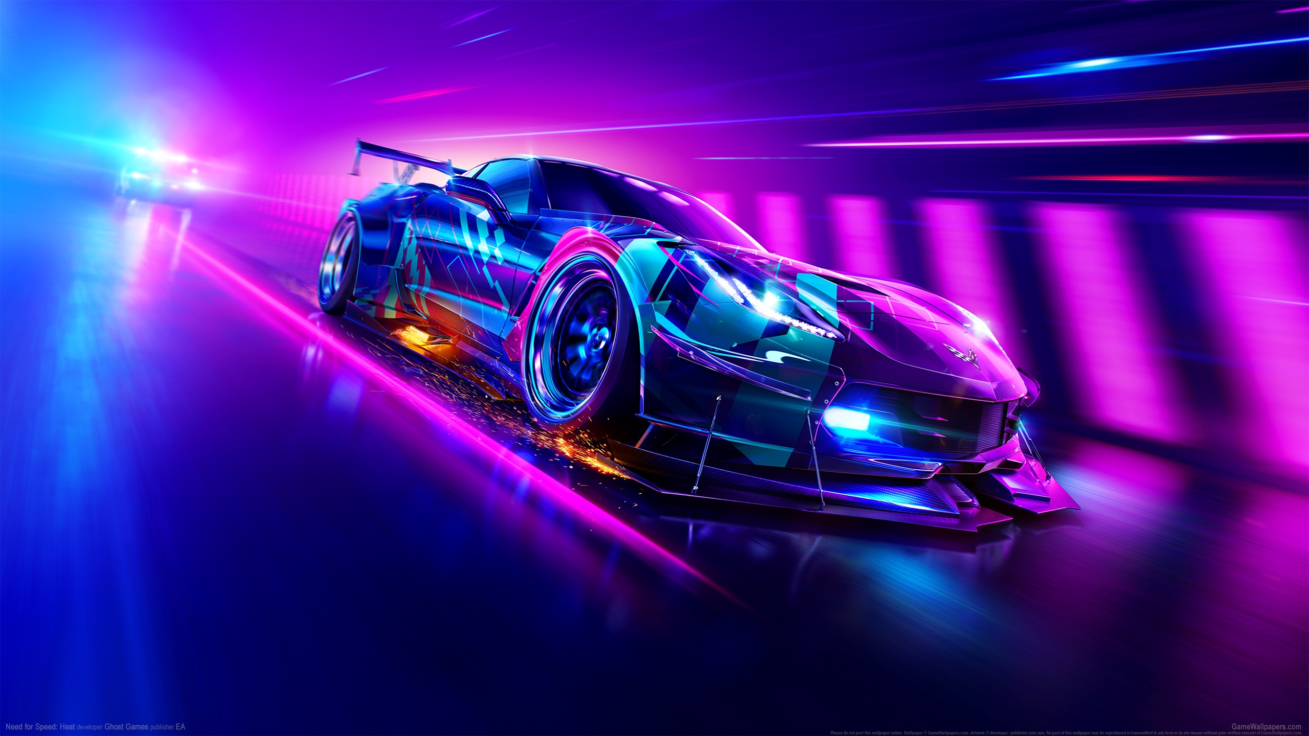 Need for Speed: Heat 2560x1440 fondo de escritorio 03