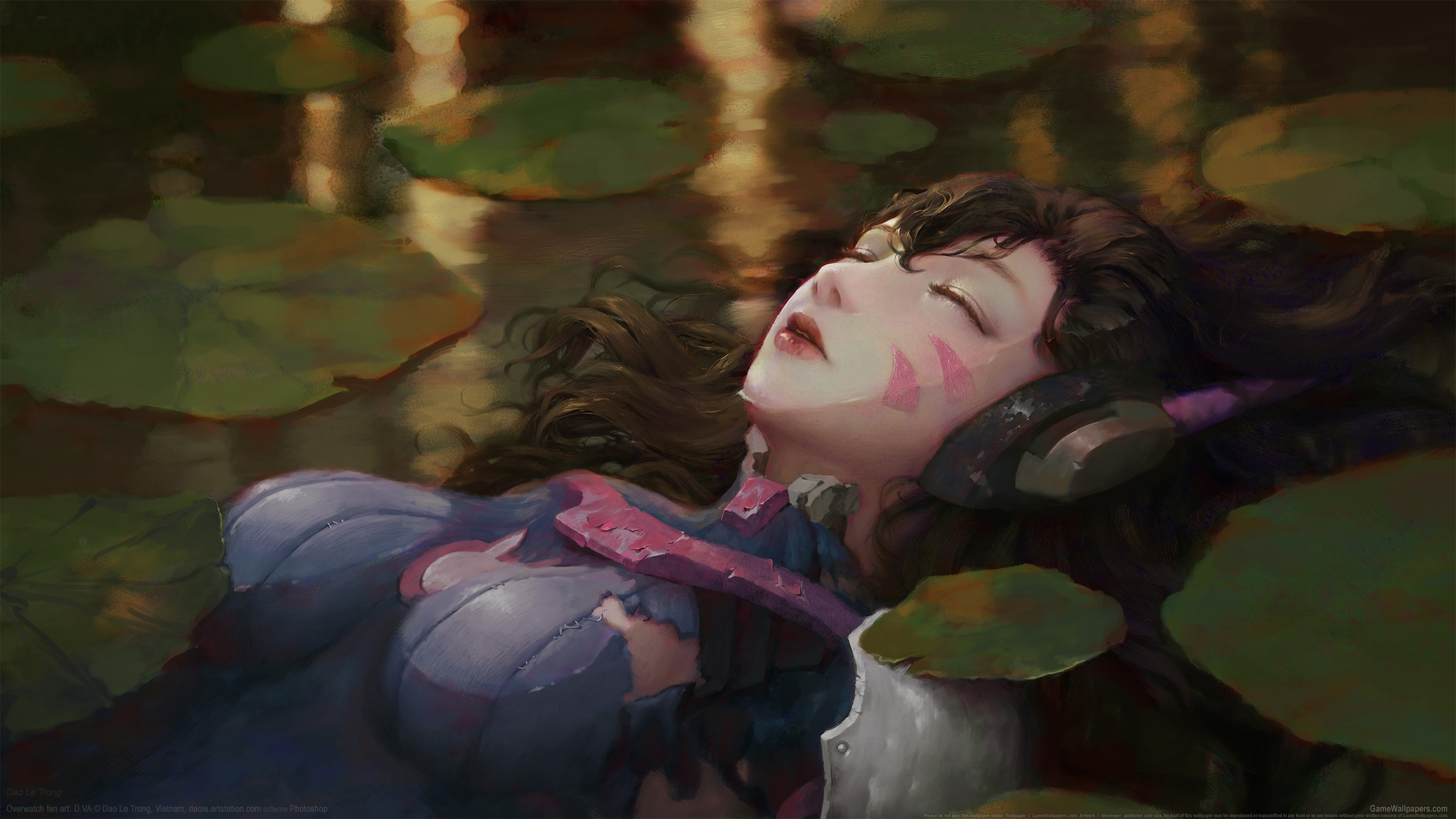 Overwatch fan art 2560x1440 Hintergrundbild 02