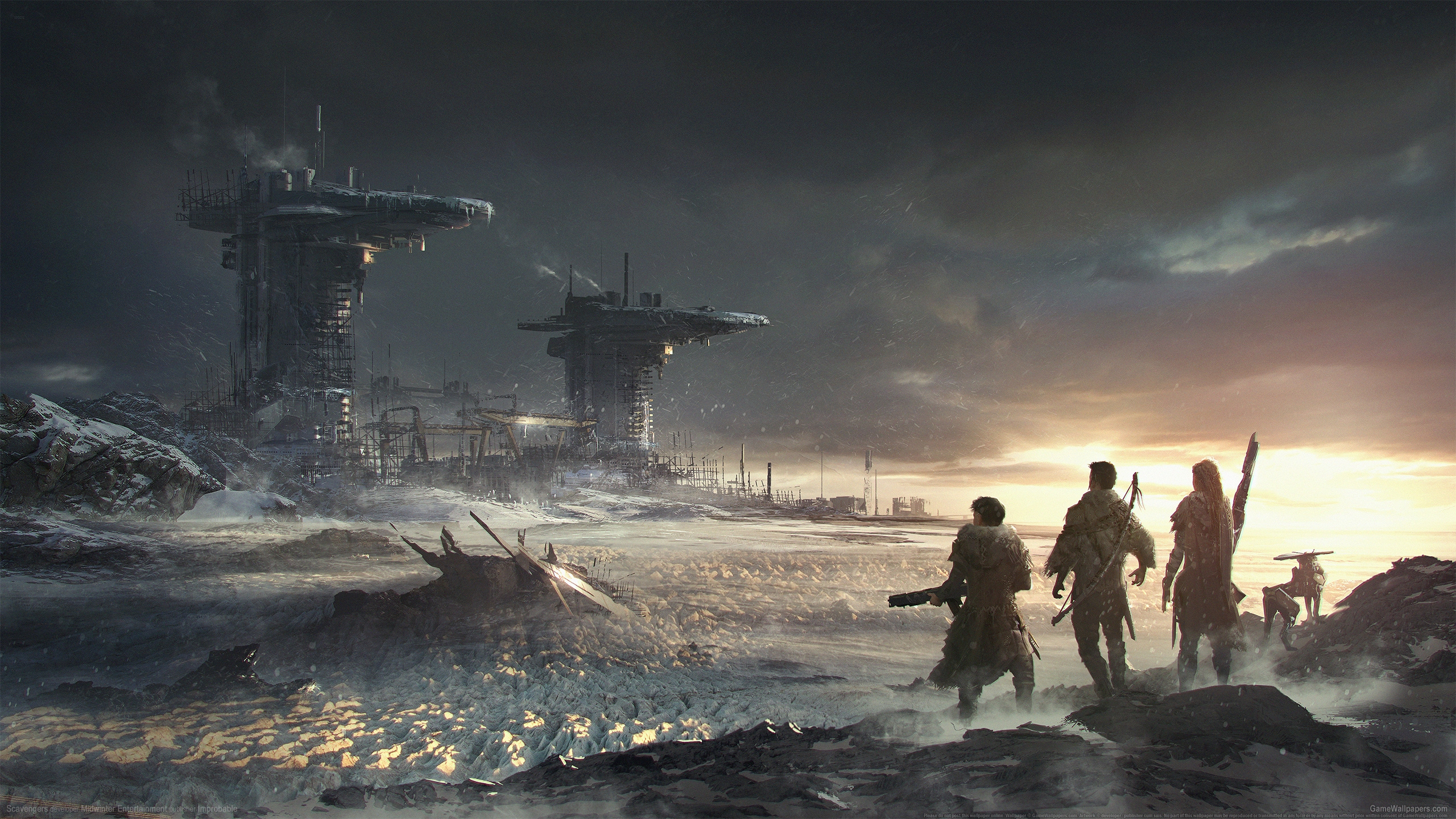 Scavengers 2560x1440 wallpaper or background 01