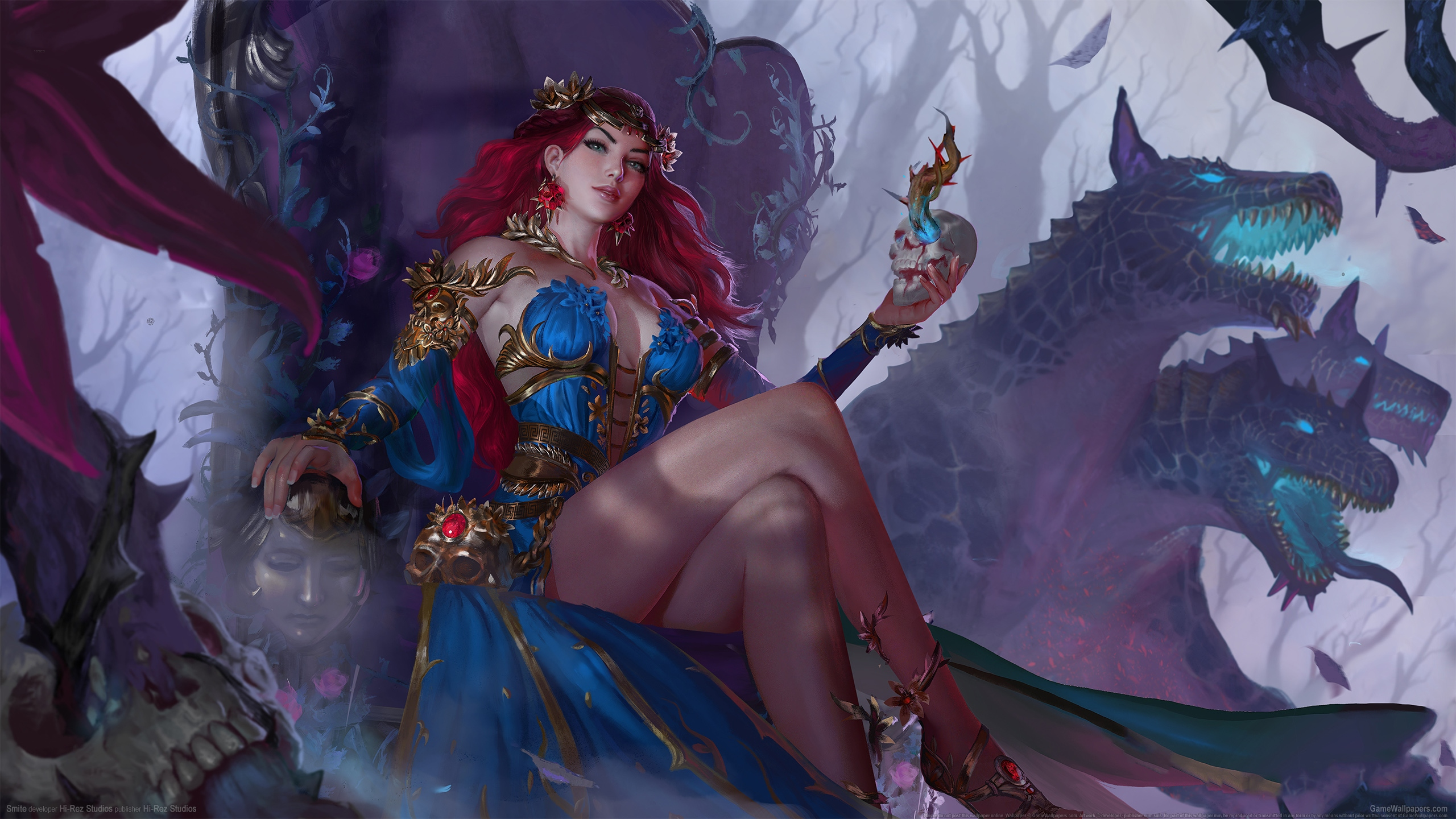 Smite 2560x1440 wallpaper or background 18