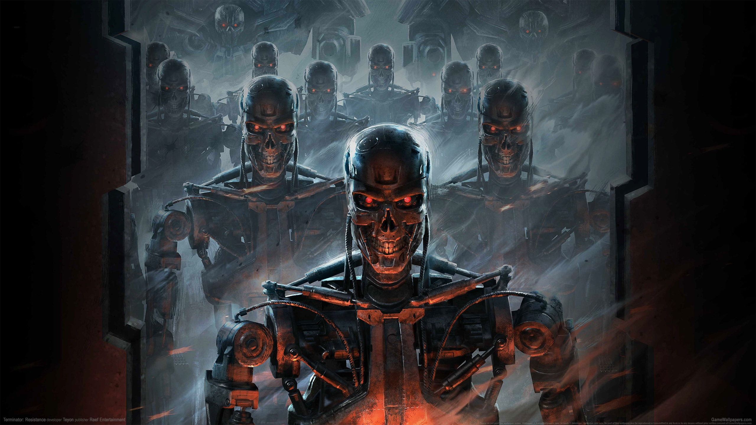 Terminator: Resistance 2560x1440 wallpaper or background 01