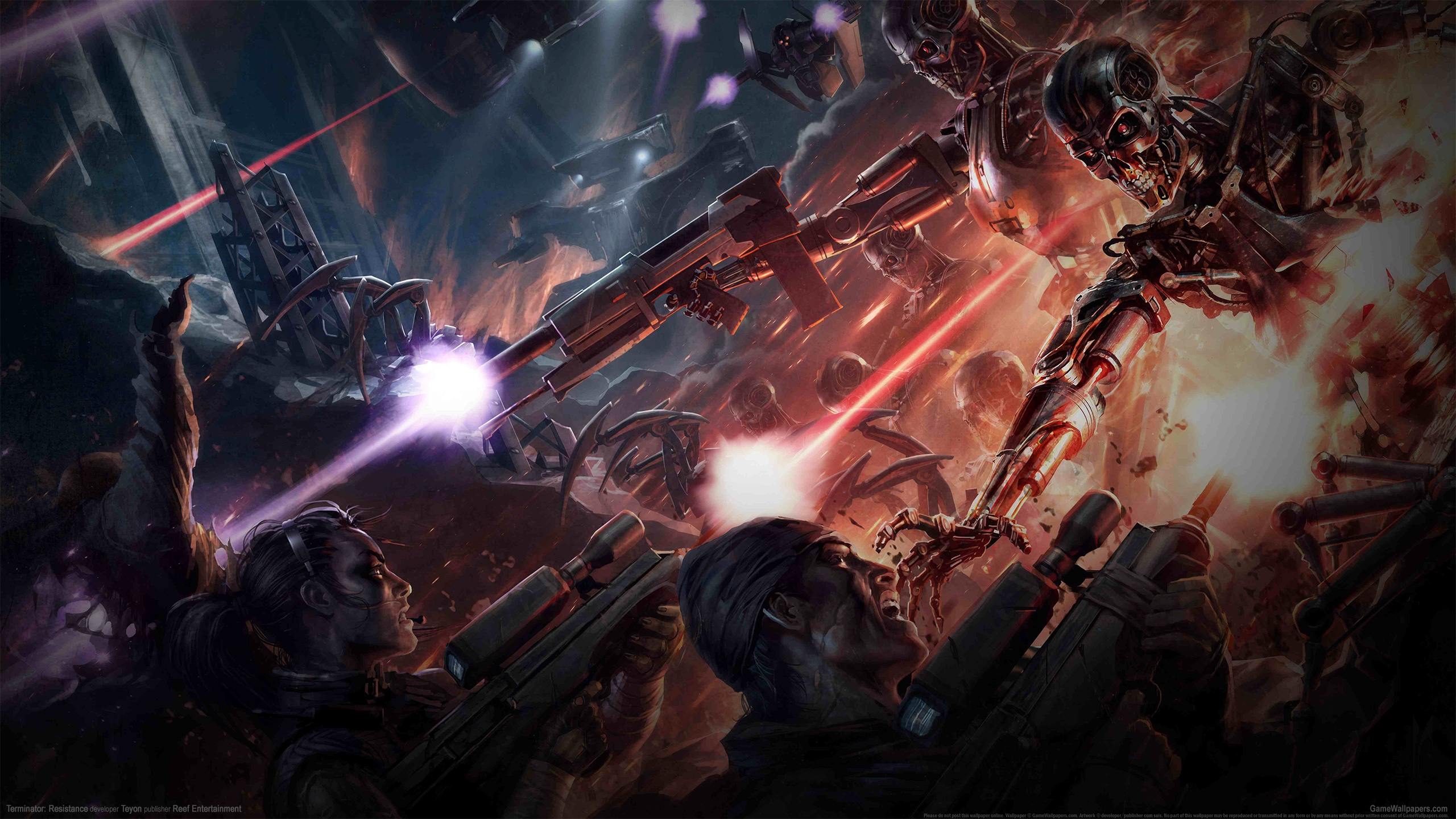 Terminator: Resistance 2560x1440 wallpaper or background 02