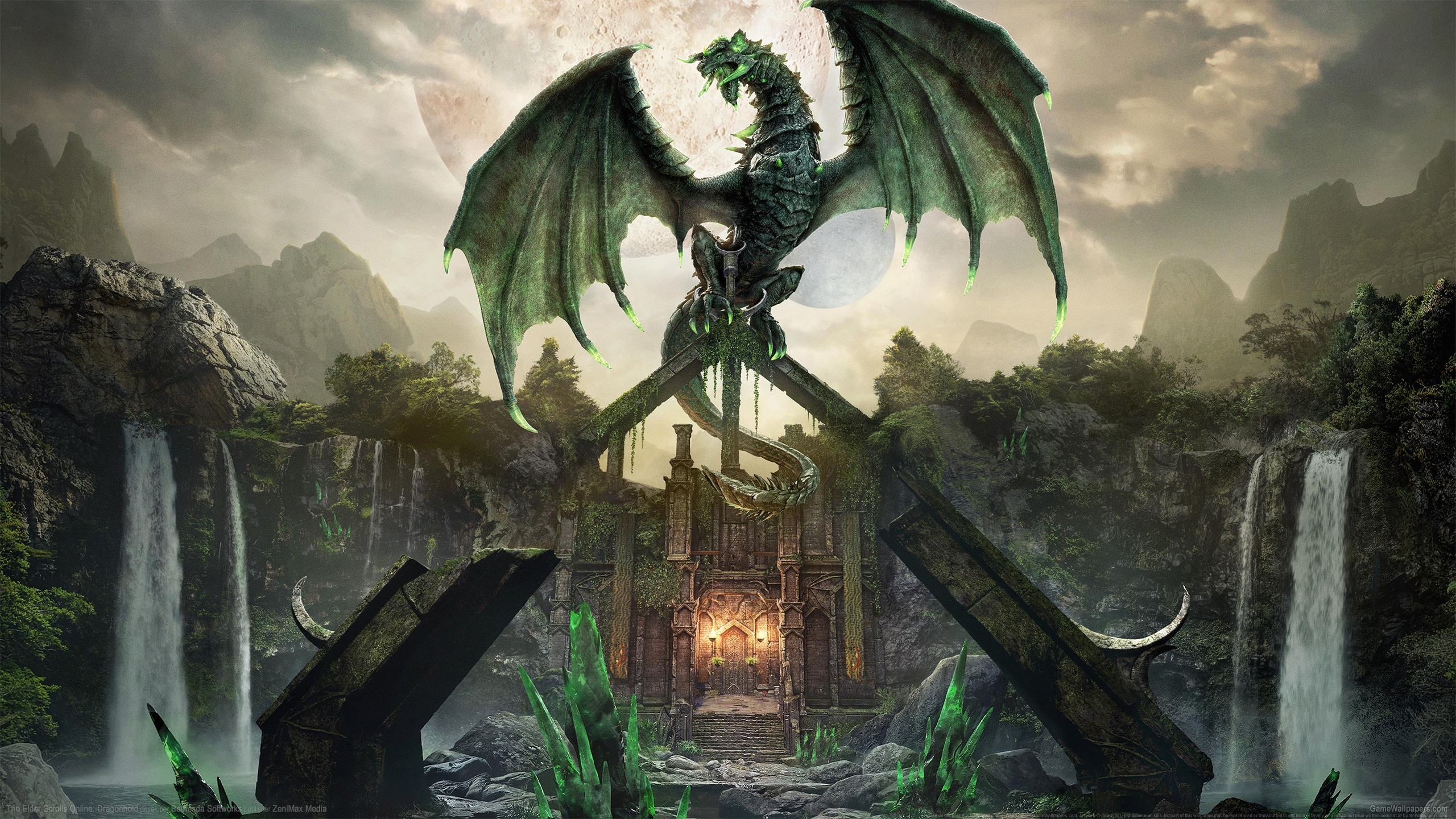 The Elder Scrolls Online: Dragonhold 2560x1440 Hintergrundbild 01