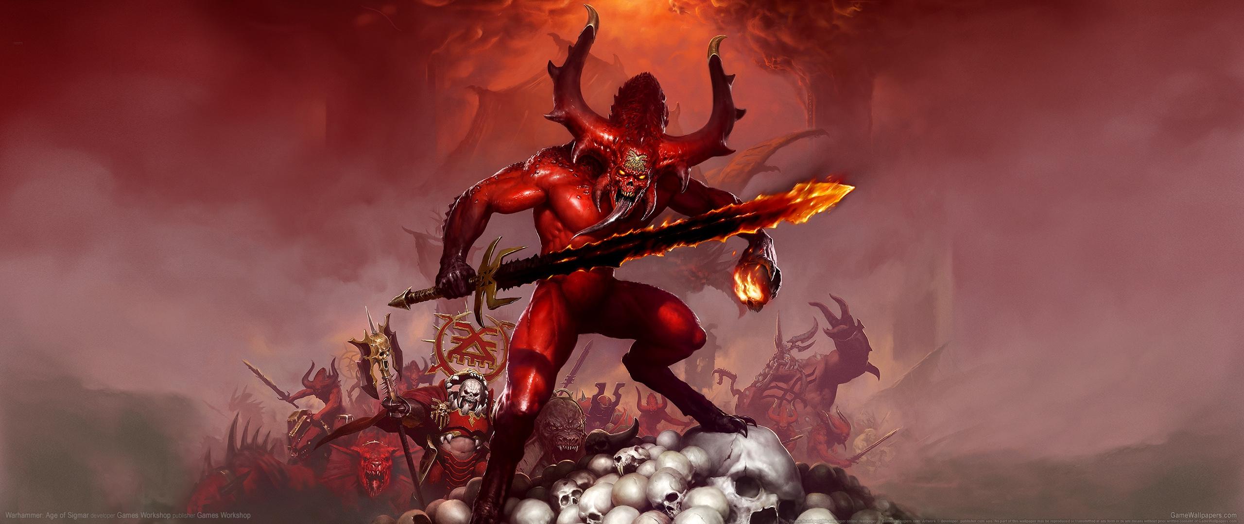Warhammer: Age of Sigmar 2560x1080 Hintergrundbild 02