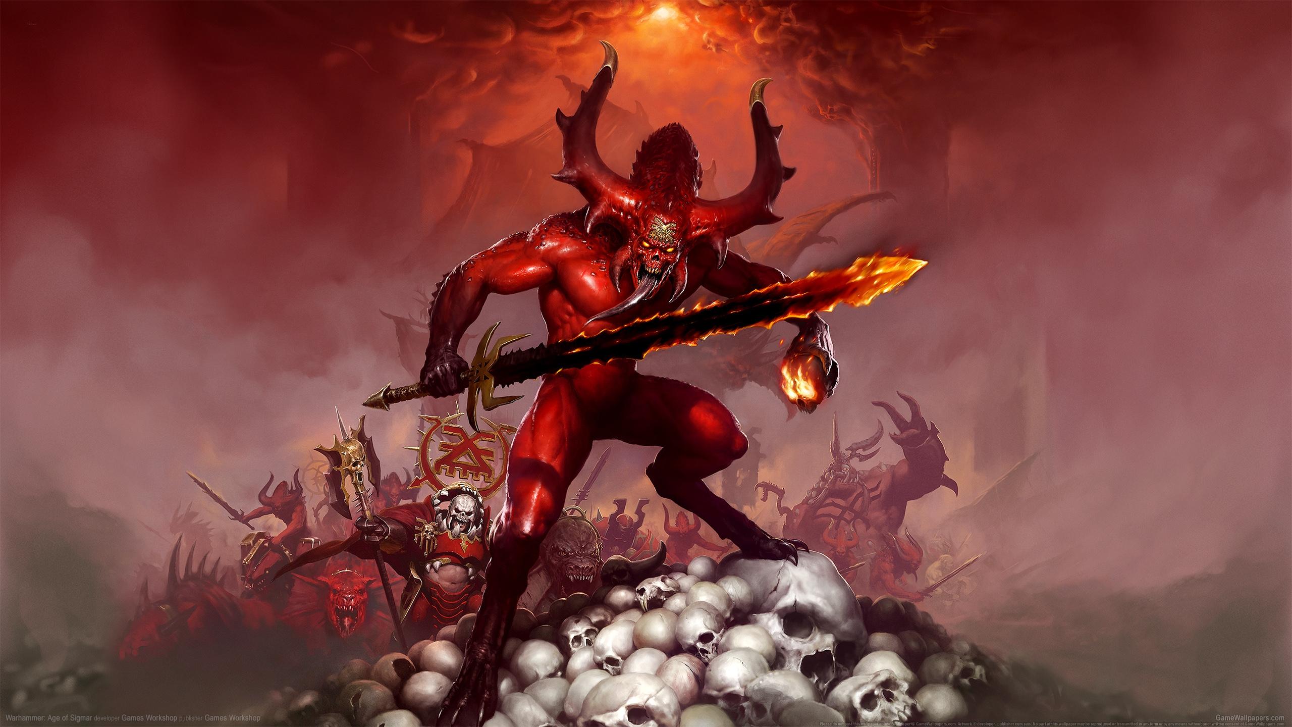 Warhammer: Age of Sigmar 2560x1440 Hintergrundbild 02