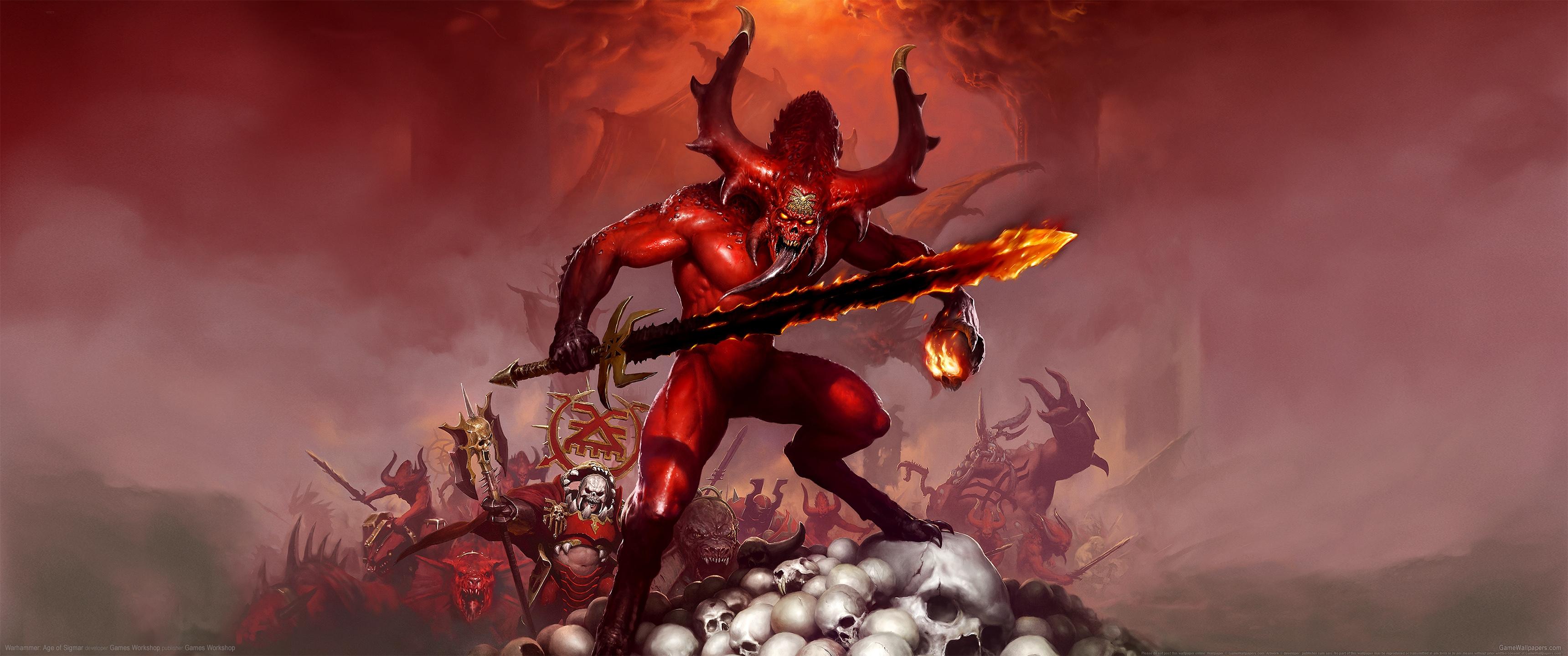 Warhammer: Age of Sigmar 3440x1440 Hintergrundbild 02