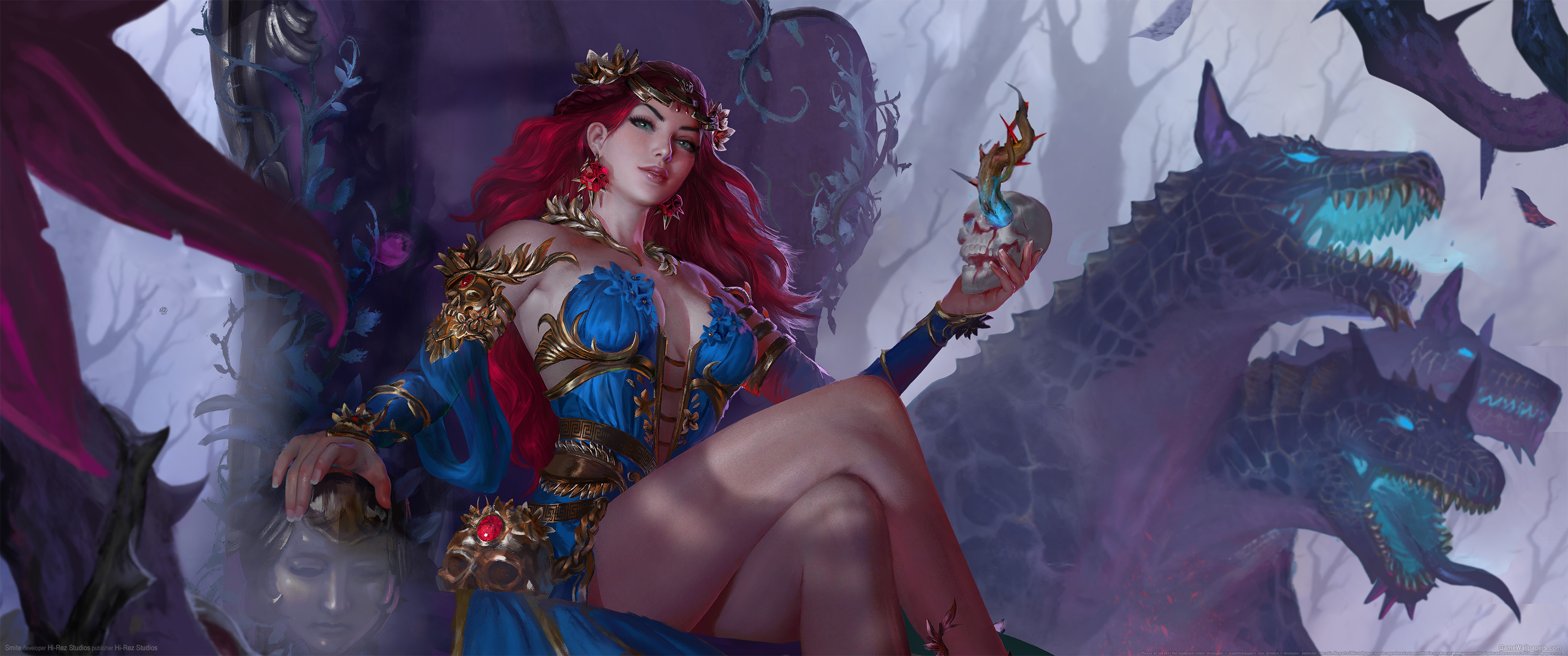 Smite 3440x1440 wallpaper or background 18