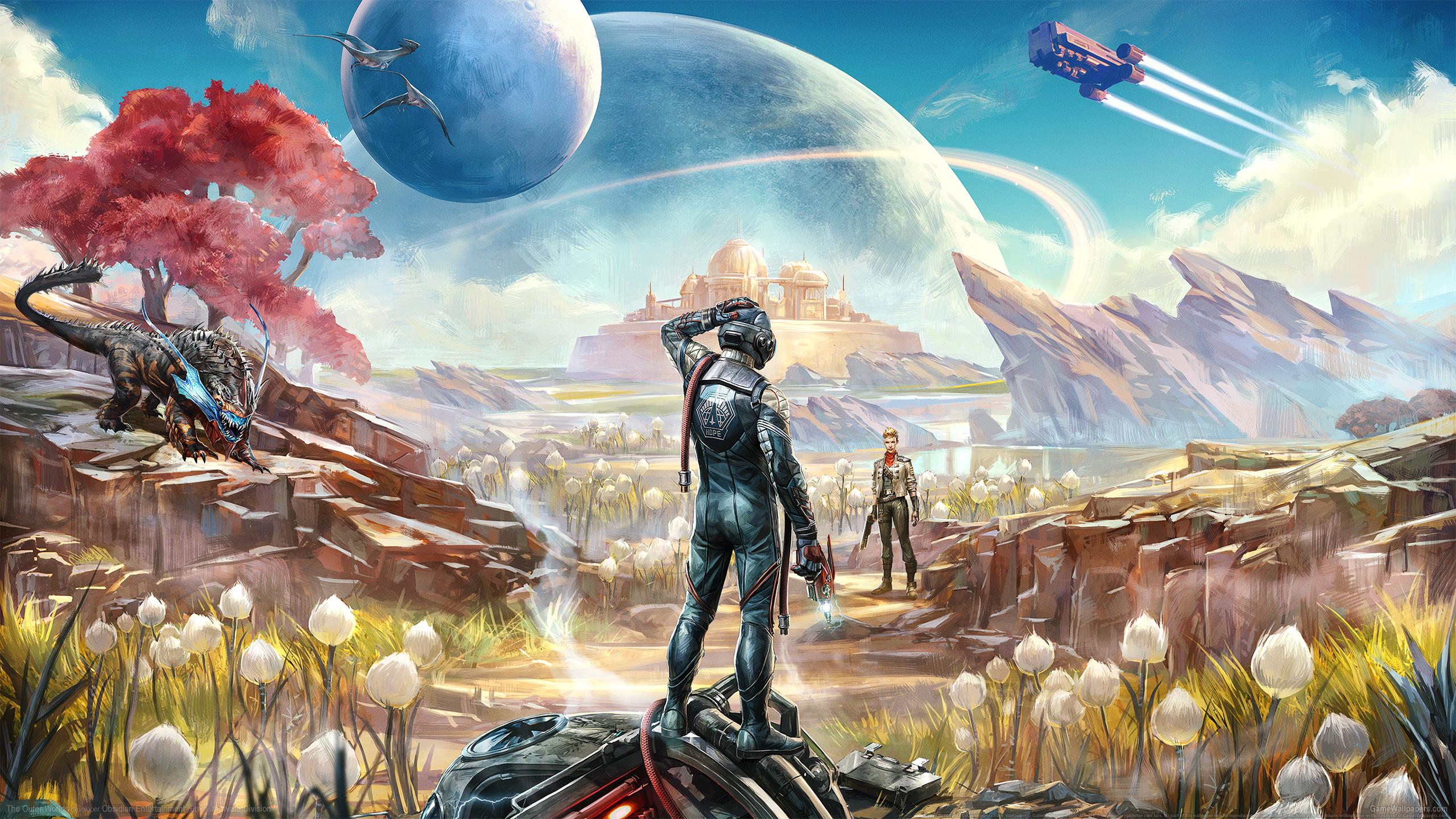 The Outer Worlds 2560x1440 Hintergrundbild 01