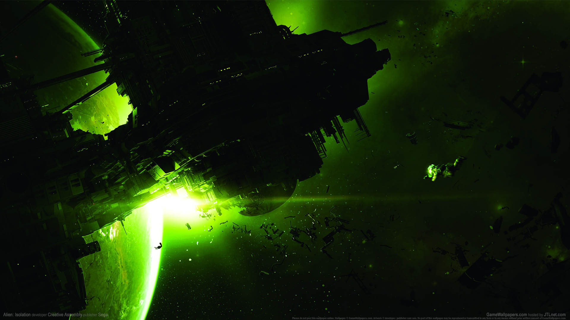 Alien: Isolation achtergrond 01 1920x1080