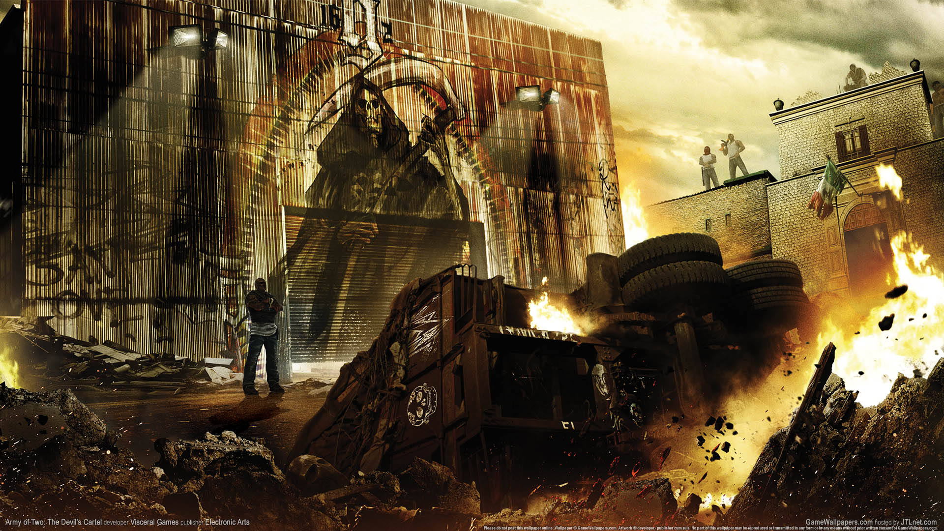Army of Two: The Devil's Cartel Hintergrundbild 01 1920x1080