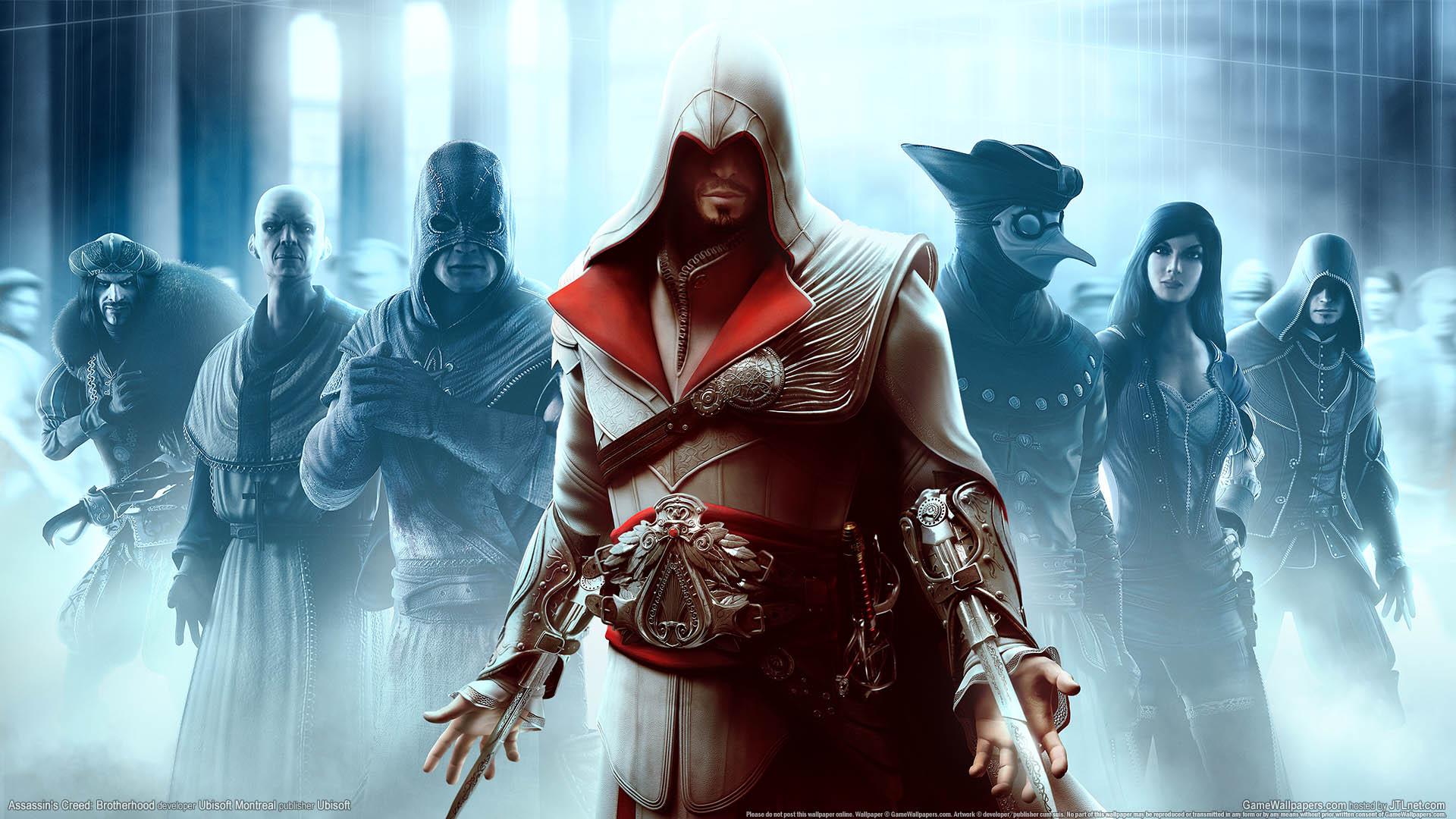 Assassin's Creed: Brotherhood wallpaper 01 1920x1080