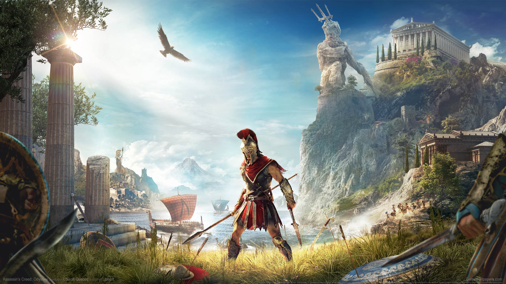 Assassin's Creed: Odyssey wallpaper 01 1920x1080