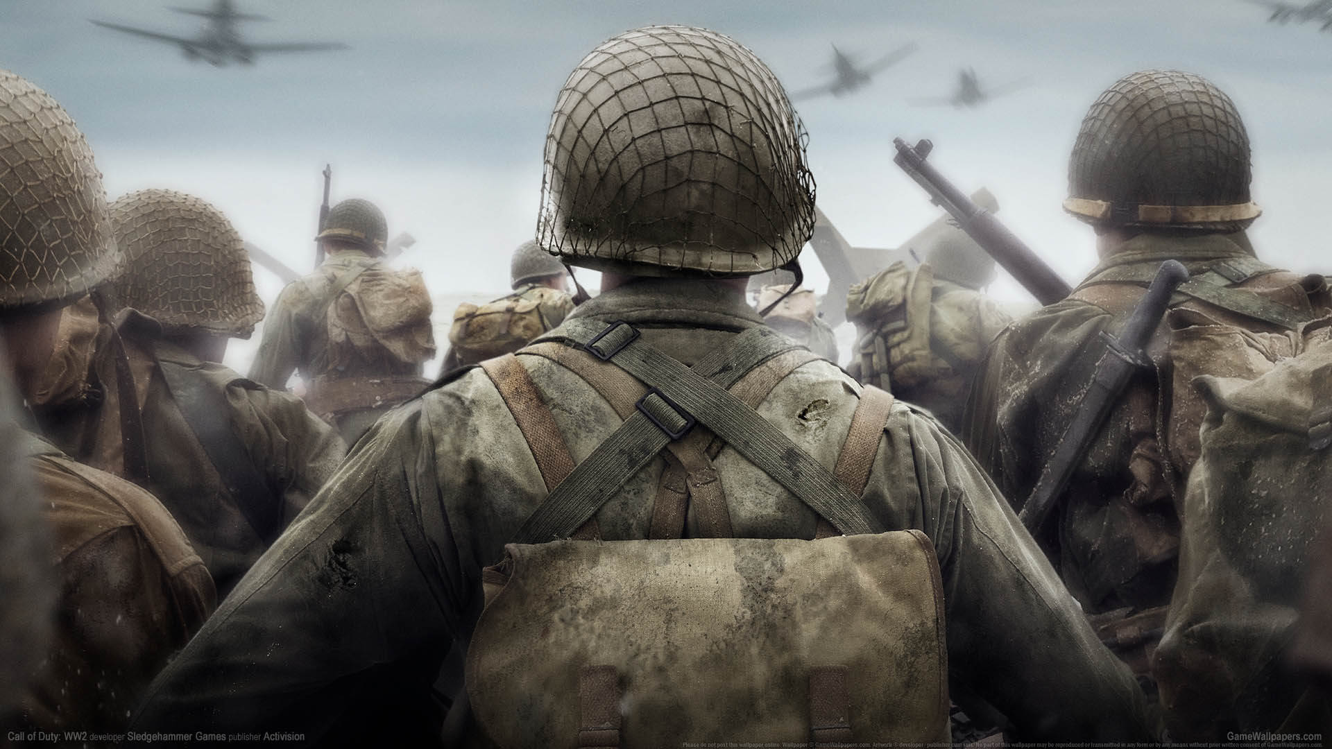 Call of Duty: WW2 wallpaper 01 1920x1080
