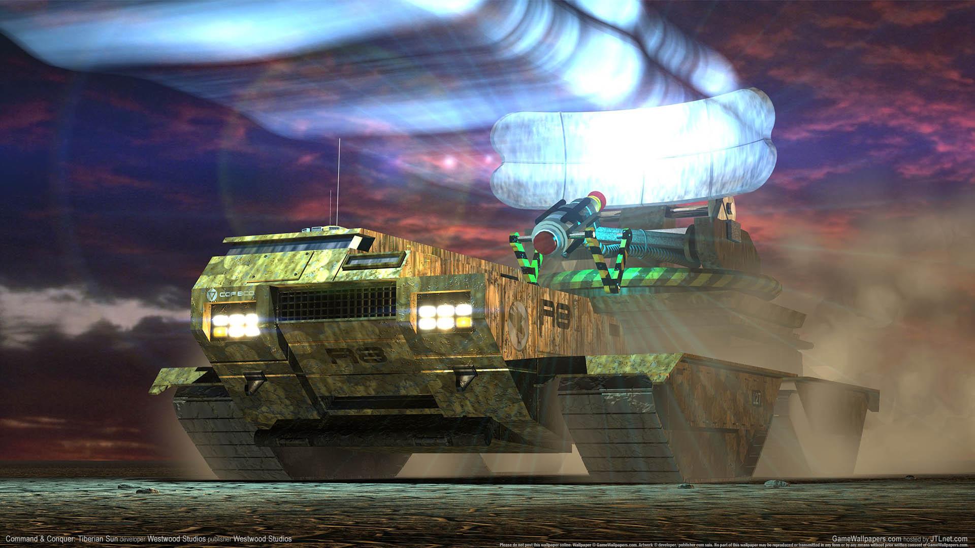 Command & Conquer: Tiberian Sun Hintergrundbild 01 1920x1080