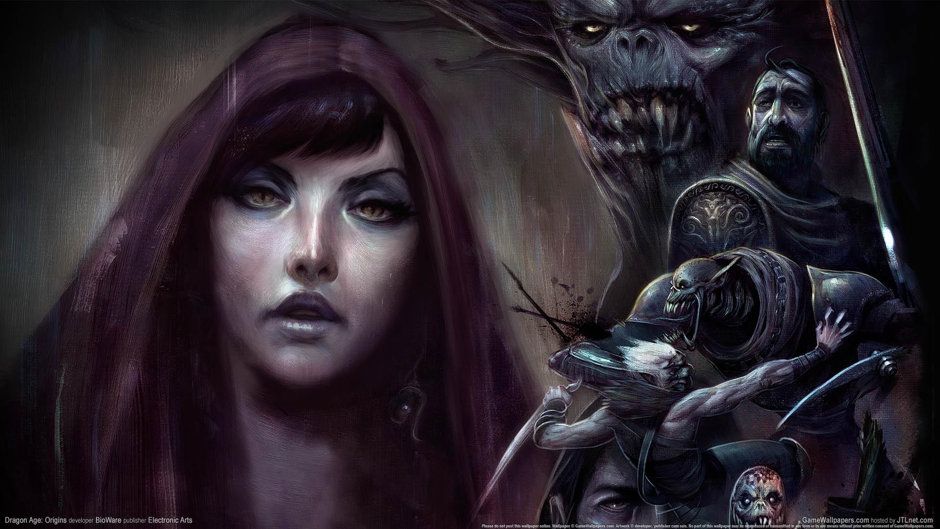 Dragon Age: Origins achtergrond 01 1920x1080