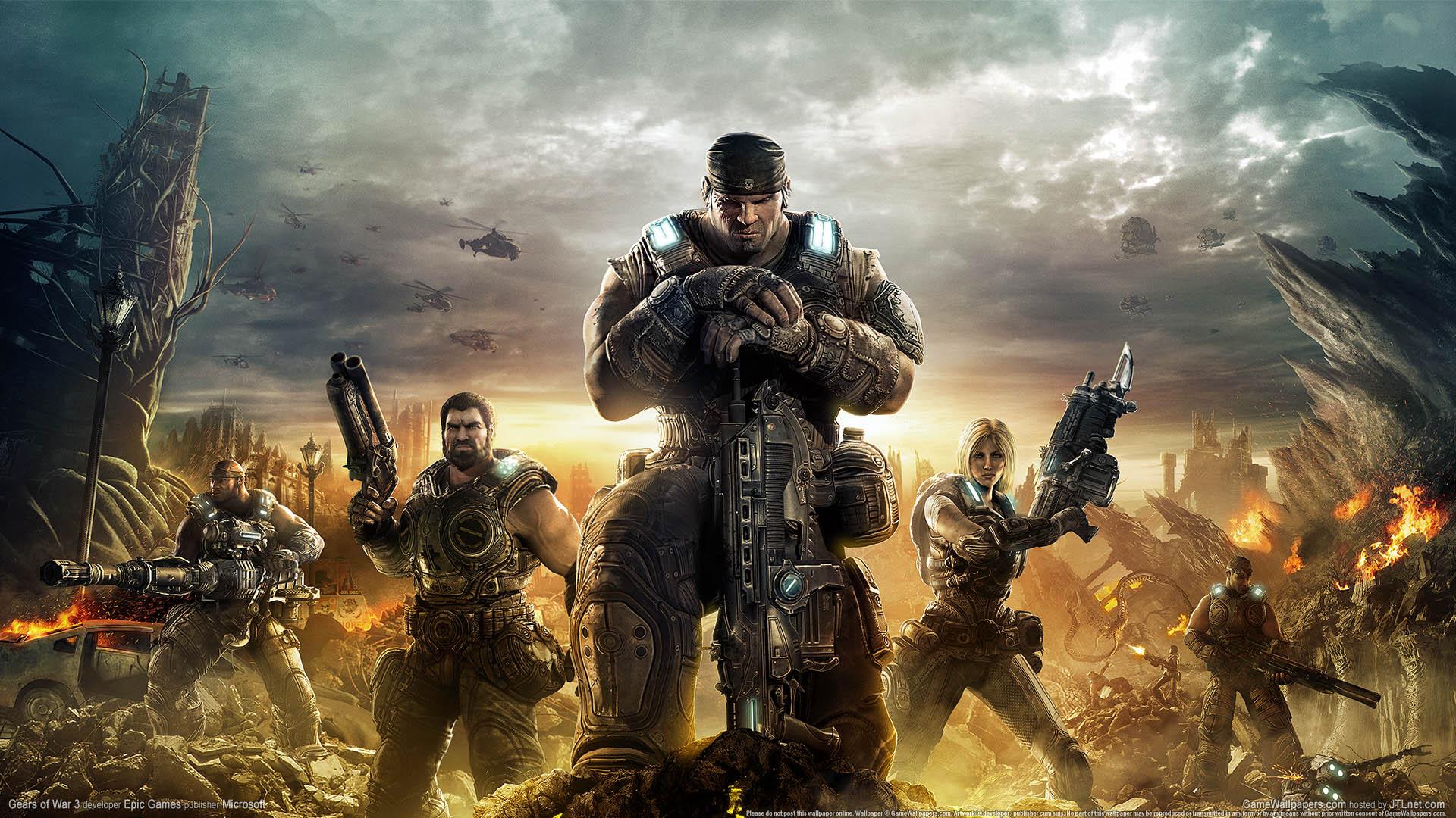 Gears of War 3 Hintergrundbild 01 1920x1080