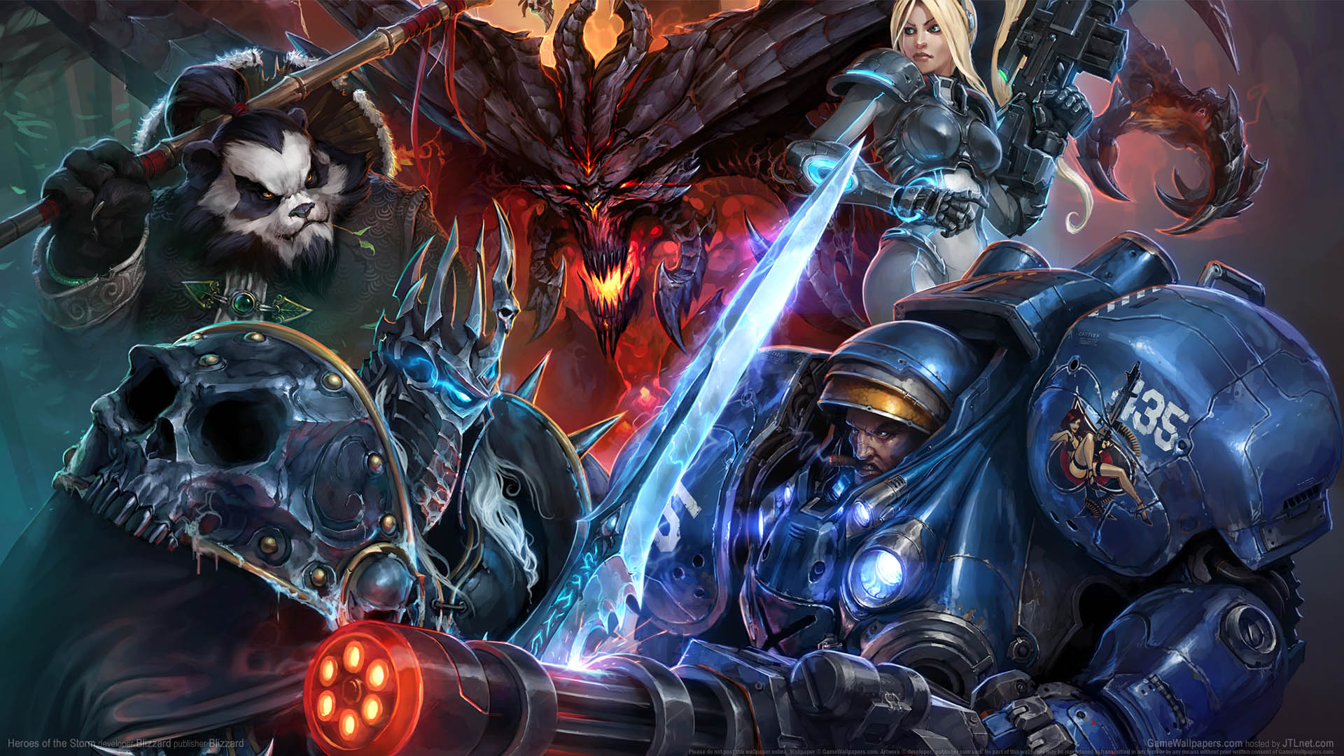 Heroes Of The Storm Wallpaper Or Background 01