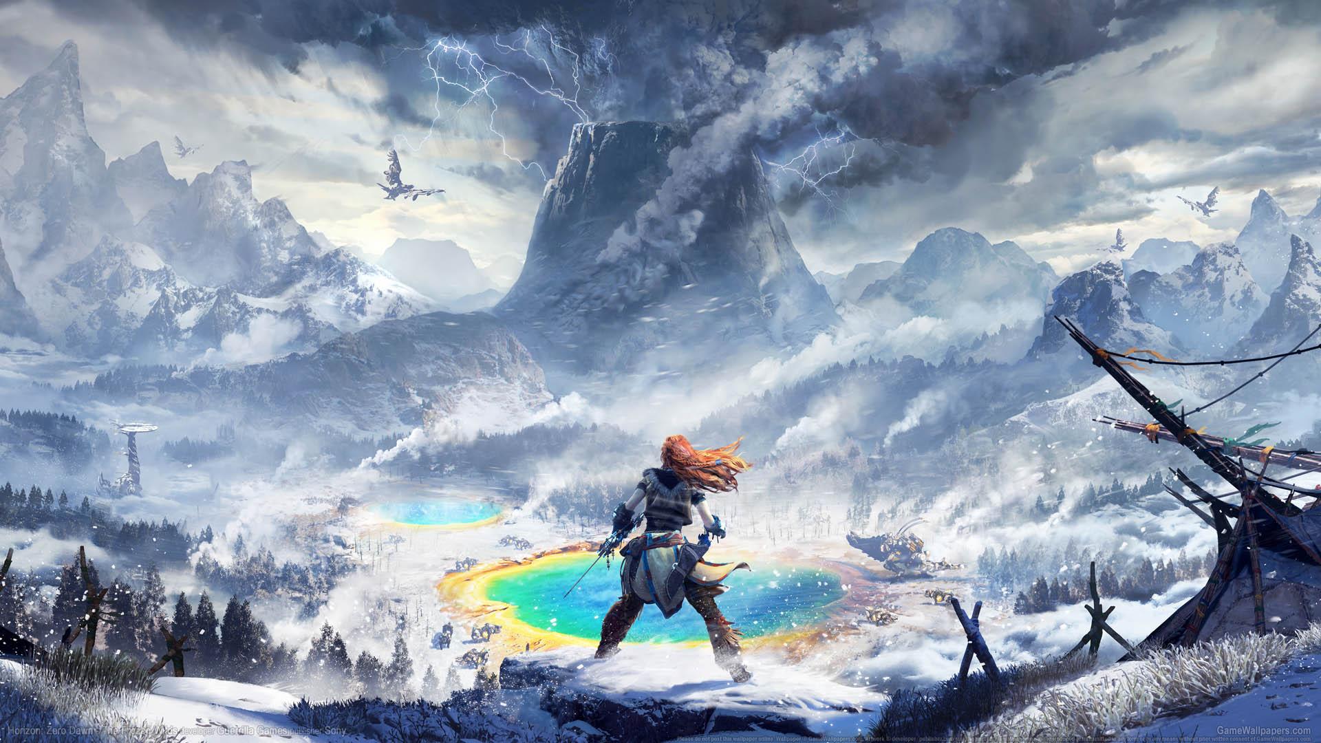 Horizon: Zero Dawn - The Frozen Wilds wallpaper 01 1920x1080