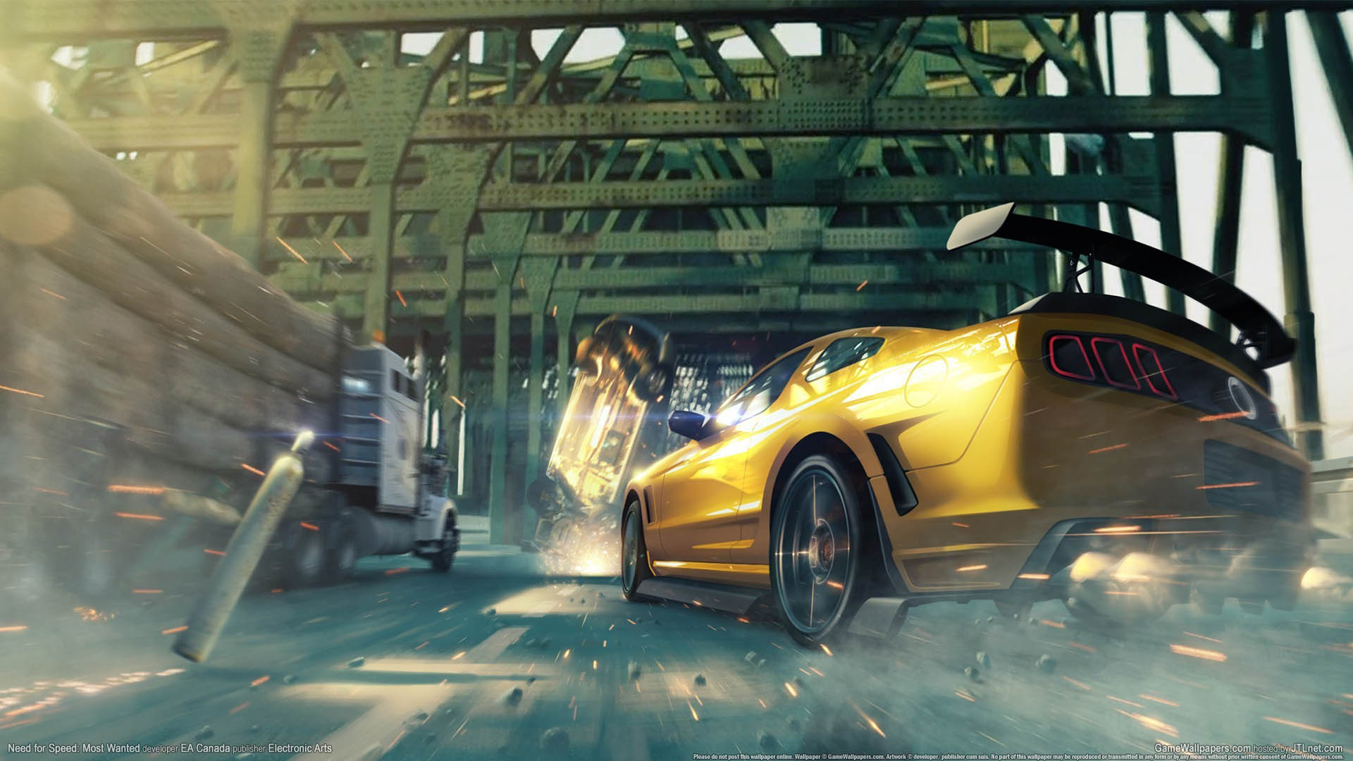 Need for Speed - Most Wanted achtergrond 07 1920x1080