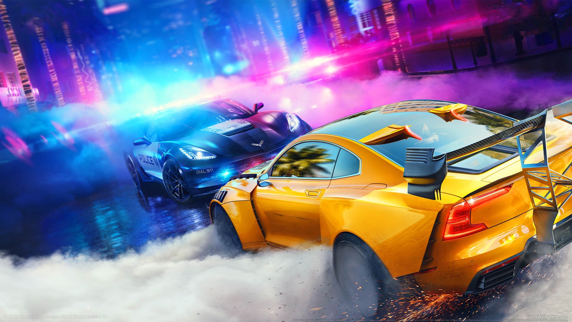 Need for Speed: Heat achtergrond 01 1920x1080