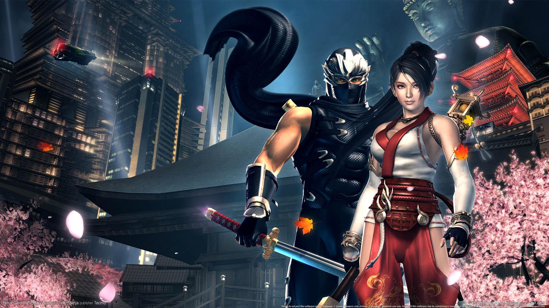 Ninja Gaiden Sigma 2 Hintergrundbild 01 1920x1080