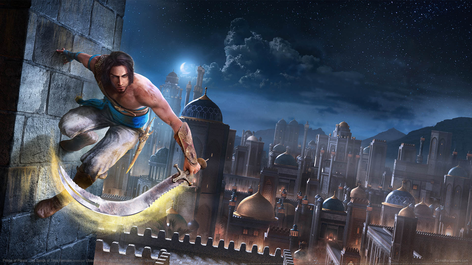 Prince of Persia: The Sands of Time Remake wallpaper 01 1920x1080