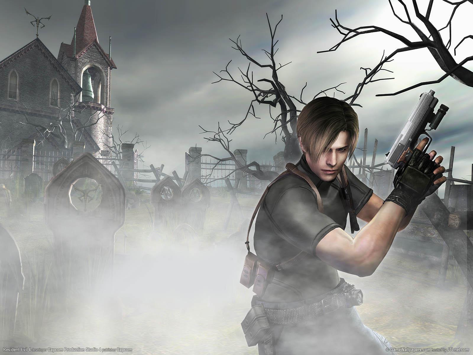 Resident Evil 4 wallpaper 01 1600x1200