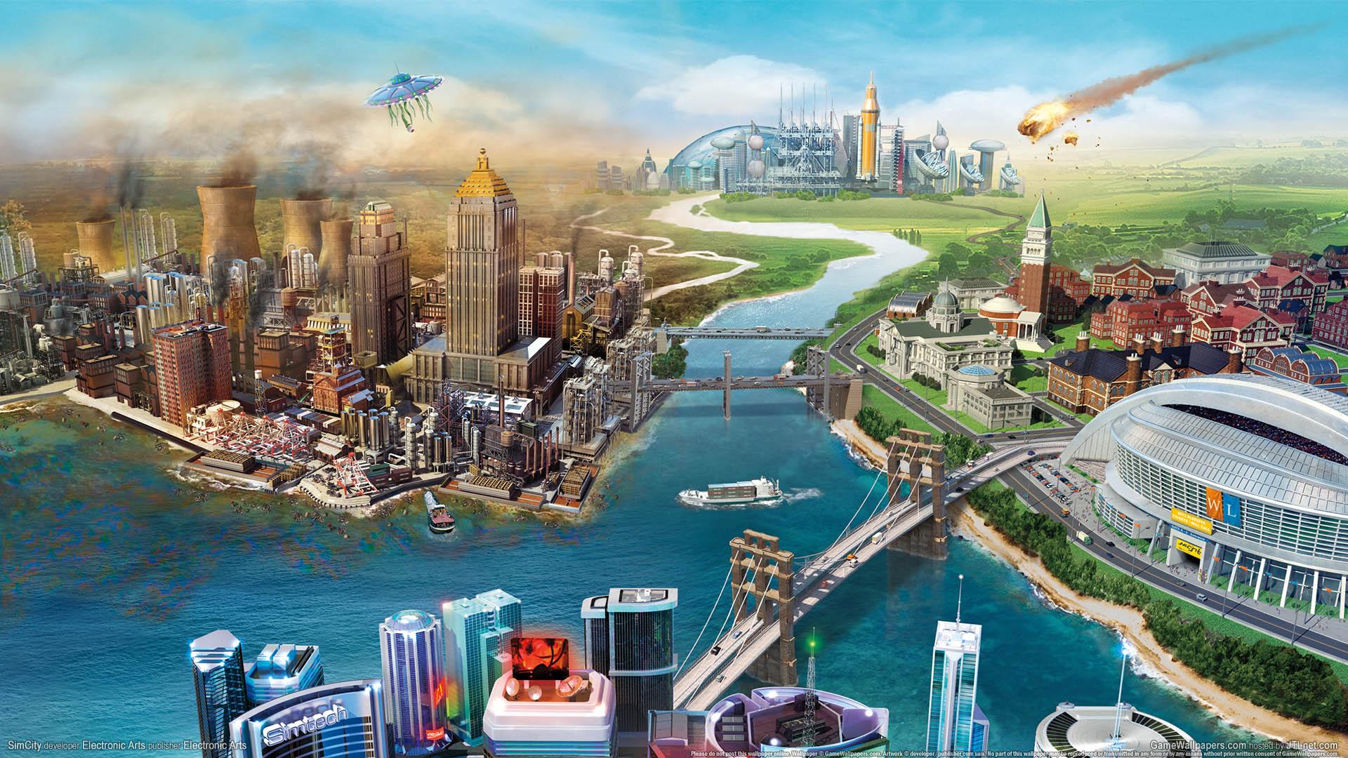 SimCity wallpaper 01 1920x1080