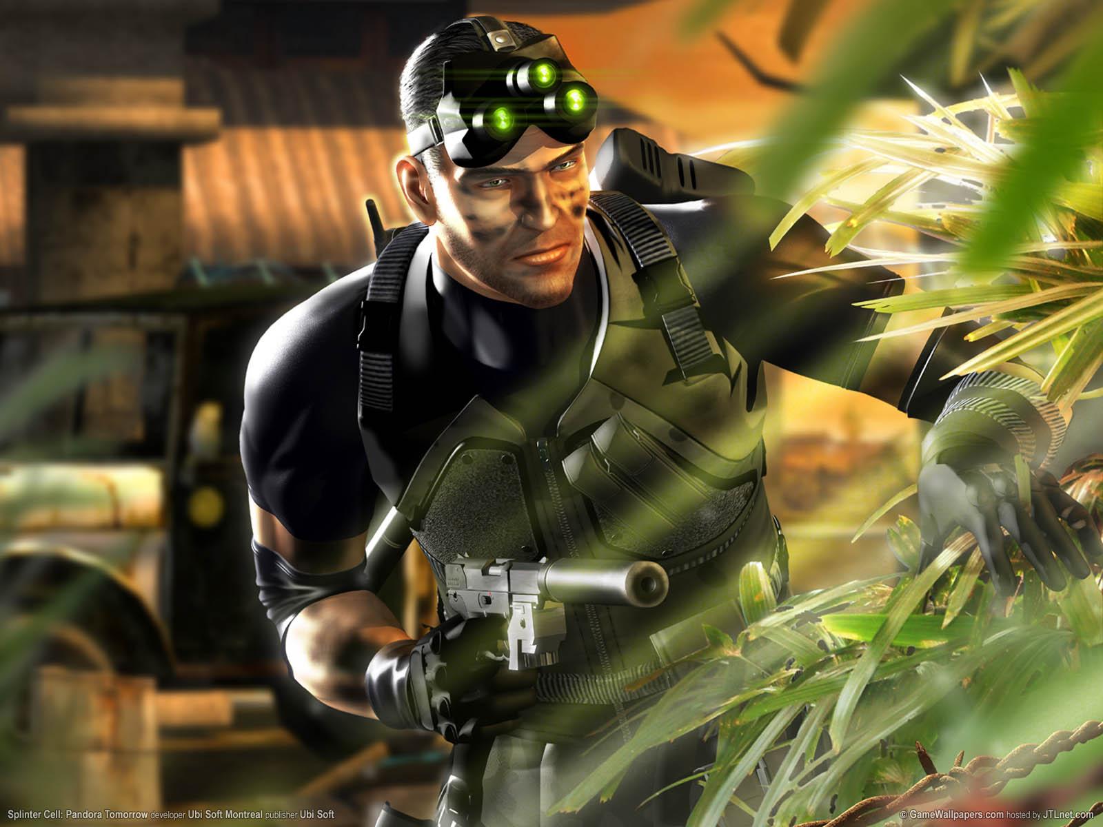 Splinter Cell: Pandora Tomorrow fondo de escritorio 01 1600x1200