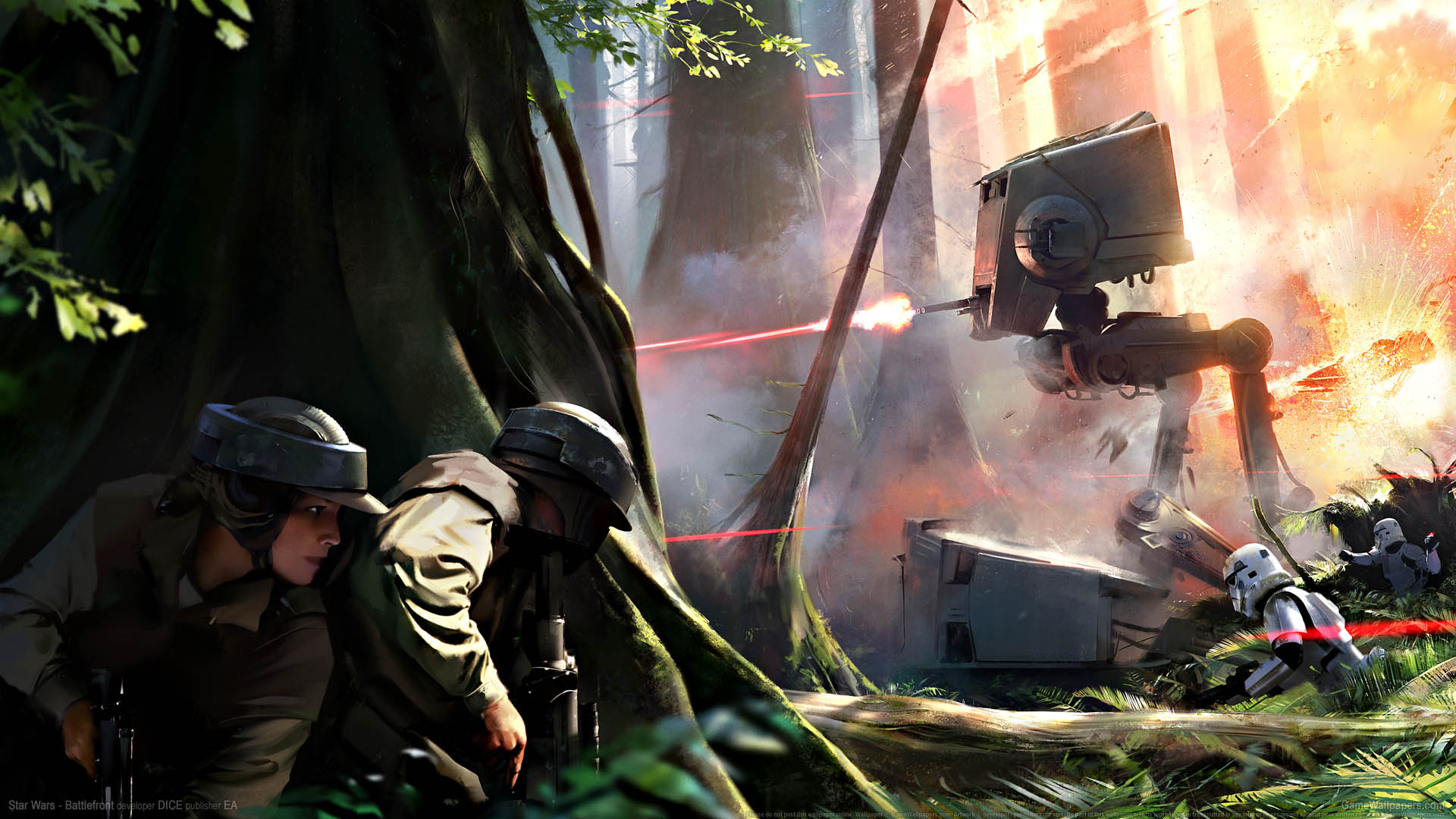 Star Wars - Battlefront wallpaper 01 1920x1080