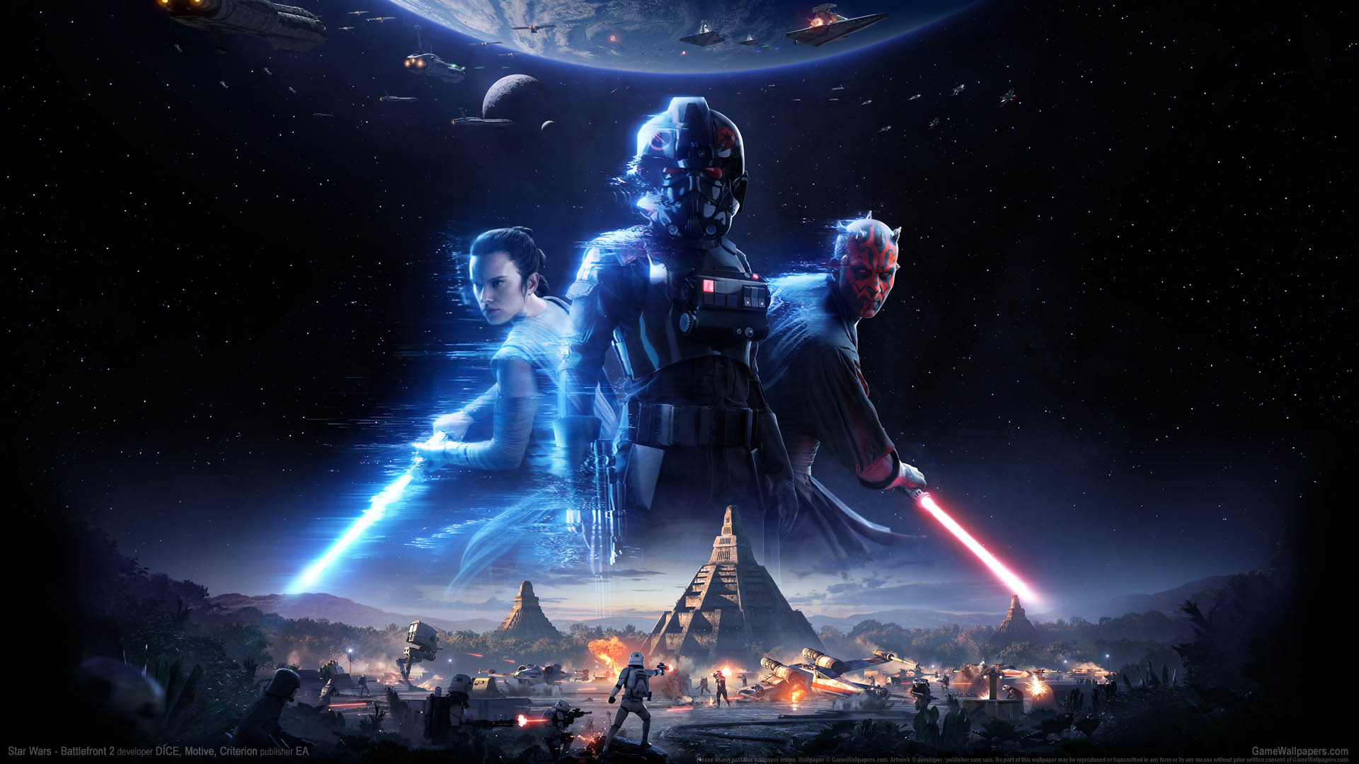 Star Wars - Battlefront 2 wallpaper 01 1920x1080