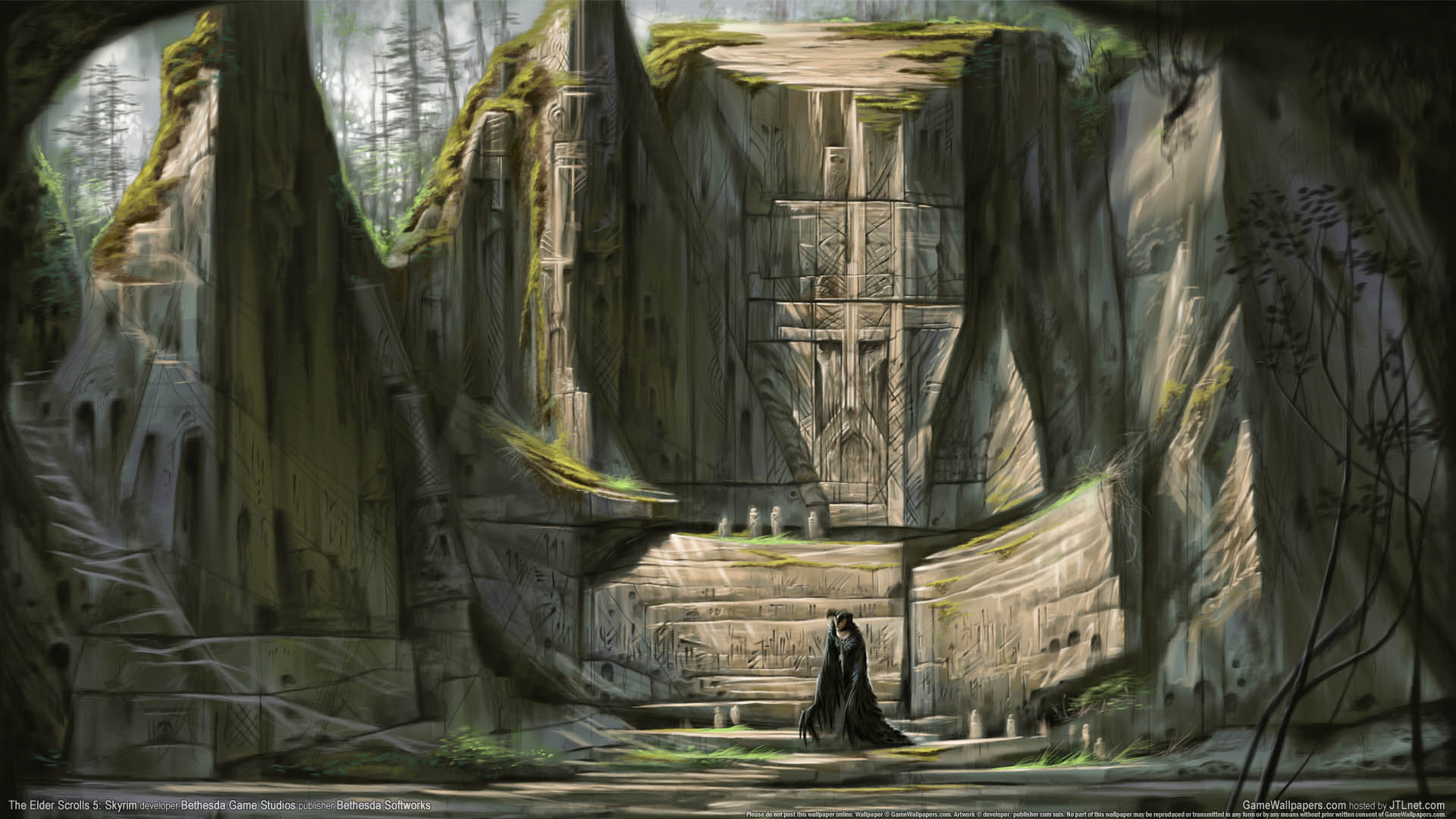 The Elder Scrolls 5: Skyrim Hintergrundbild 01 1920x1080