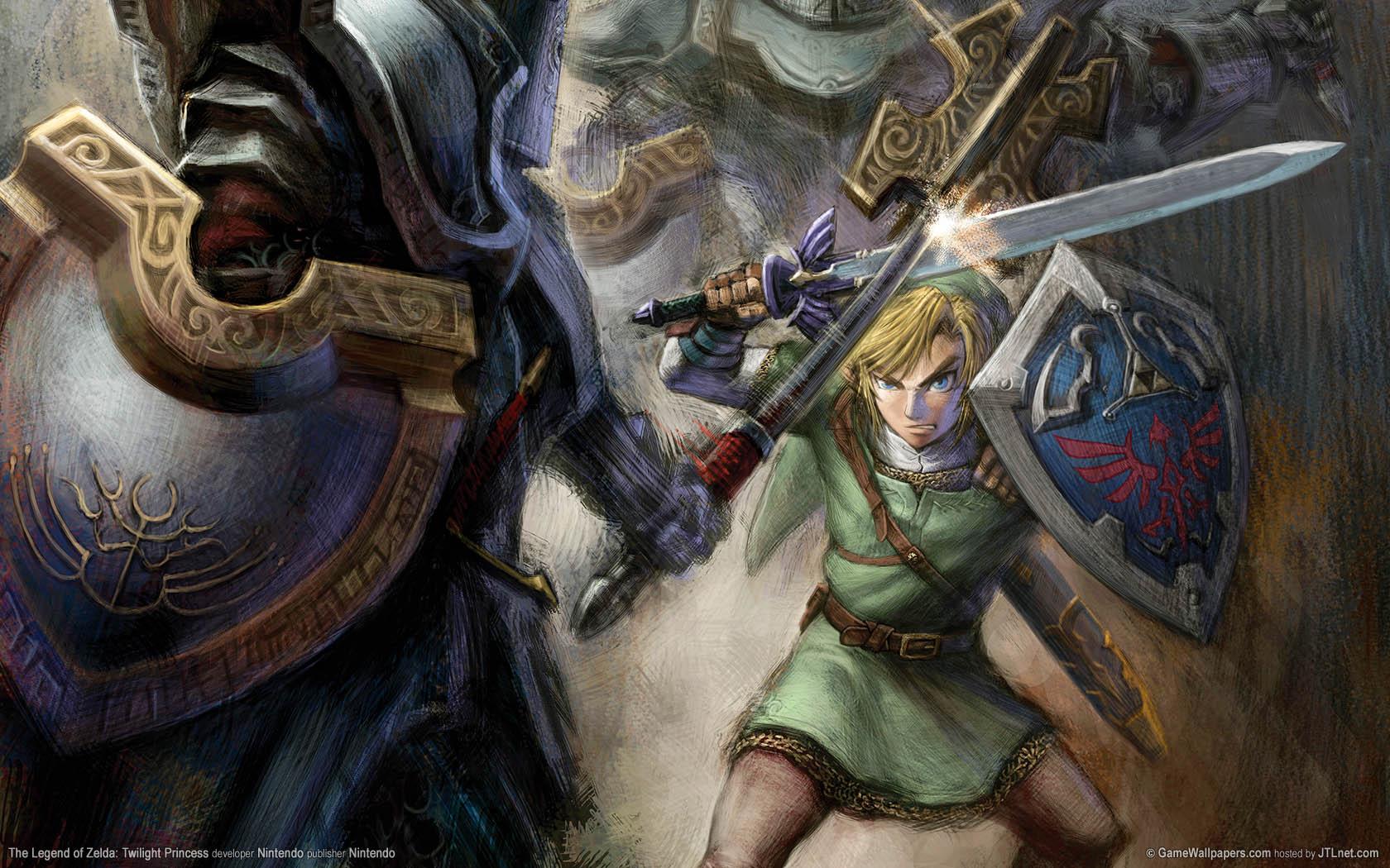 The Legend of Zelda: Twilight Princess Hintergrundbild 01 1680x1050