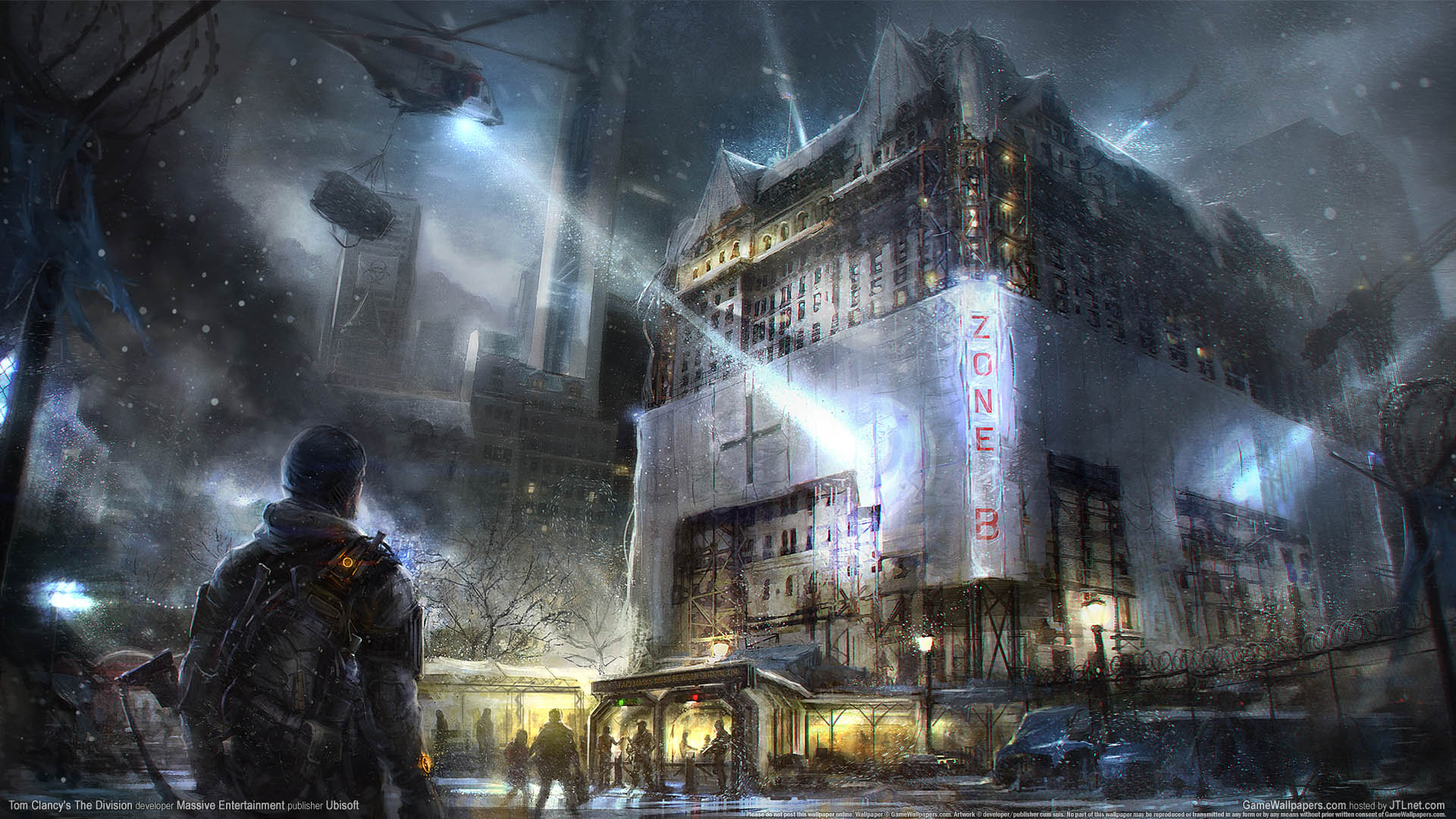 Tom Clancy's The Division achtergrond 01 1920x1080
