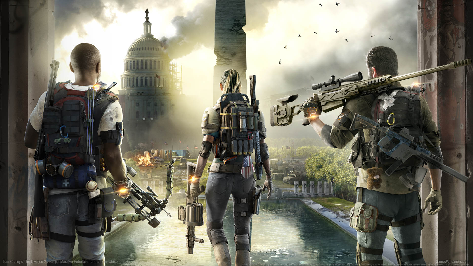 Tom Clancy's The Division 2 wallpaper 01 1920x1080