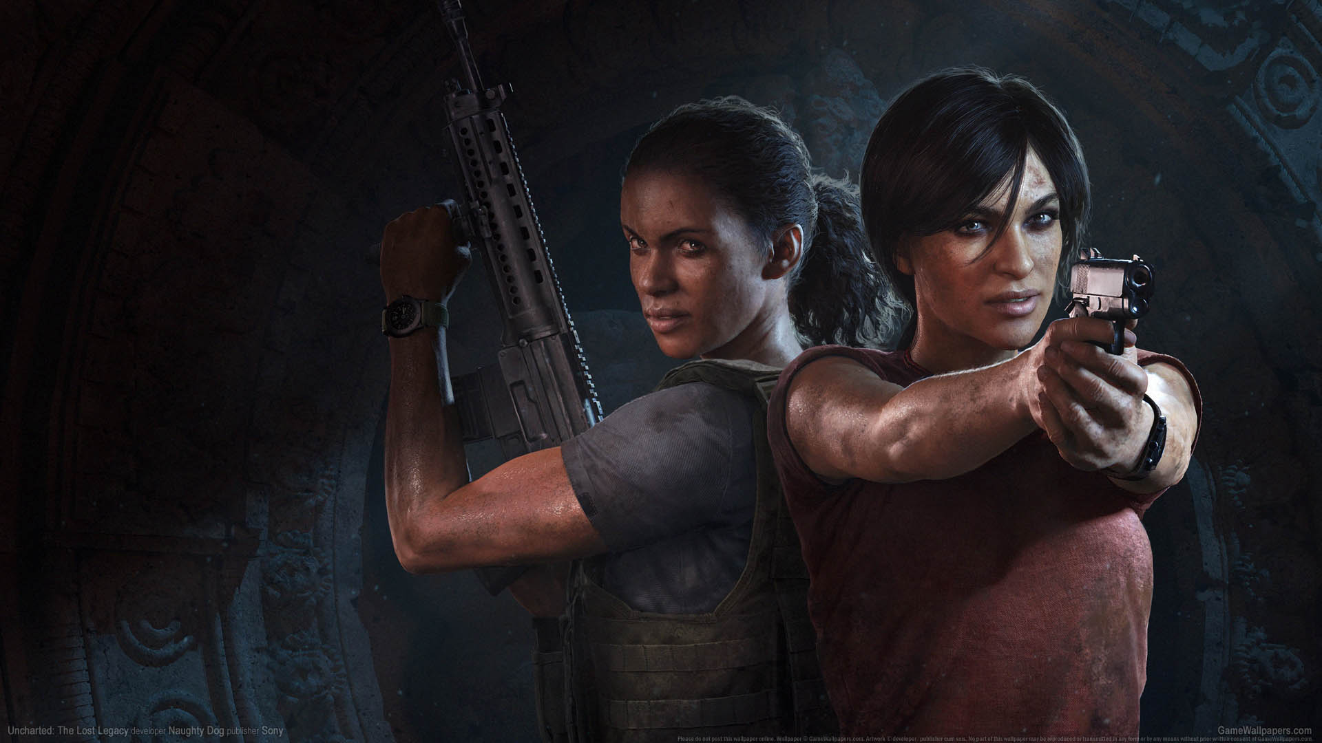 Uncharted: The Lost Legacy achtergrond 01 1920x1080