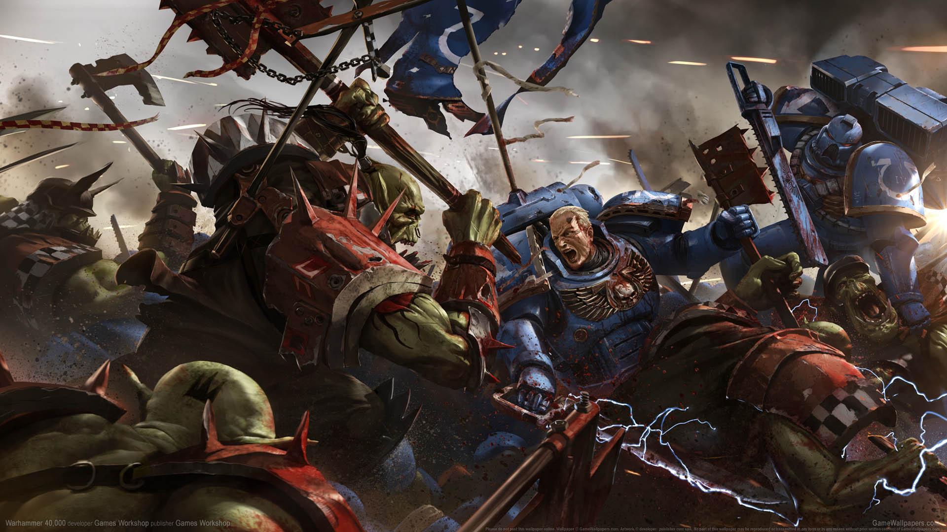 Warhammer 40000 Fondo De Escritorio 01 1920x1080