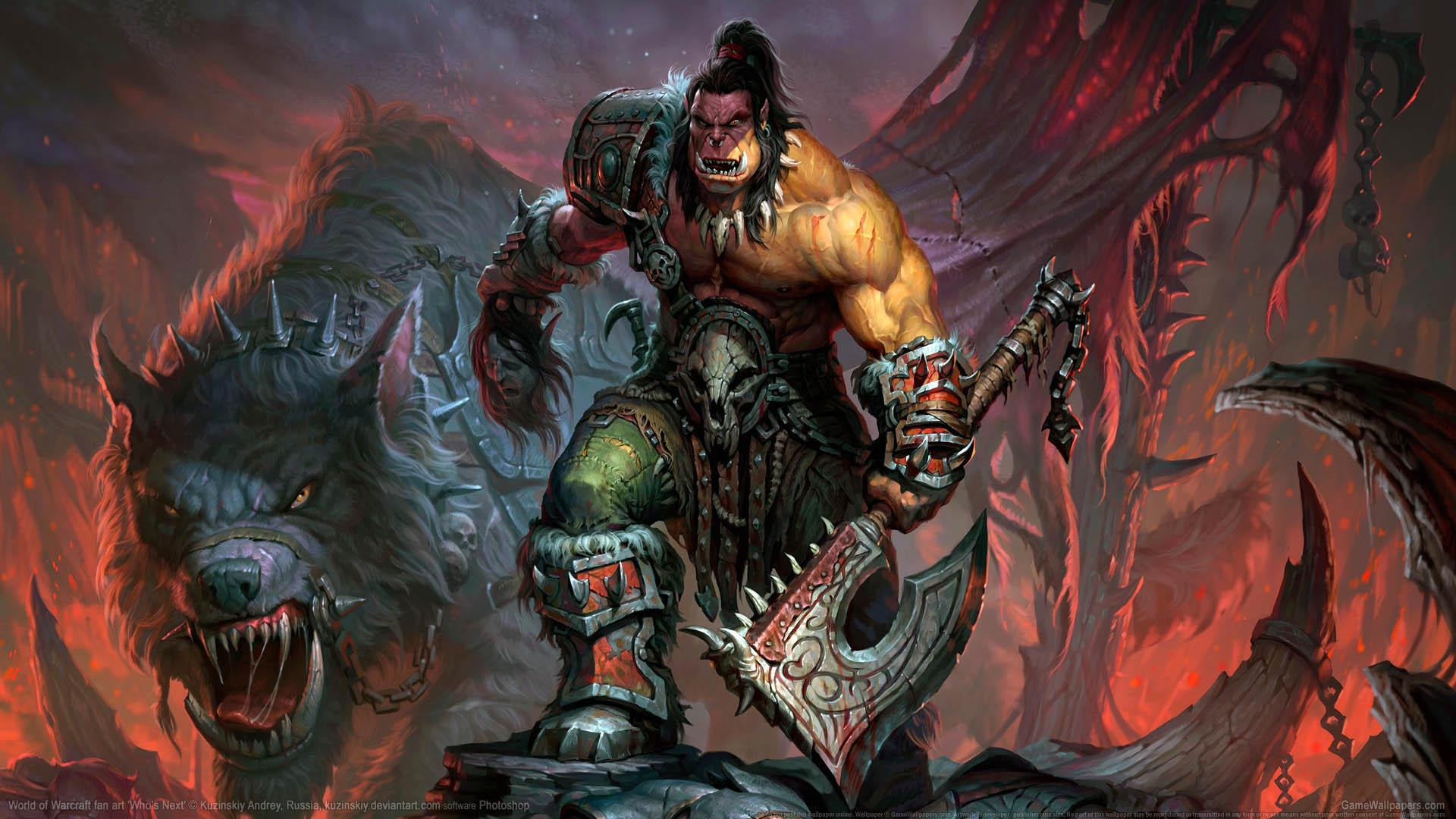 World of Warcraft fan art wallpaper 01 1920x1080