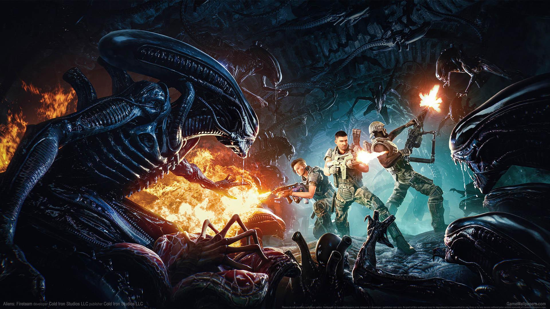 Aliens: Fireteam wallpaper 01 1920x1080