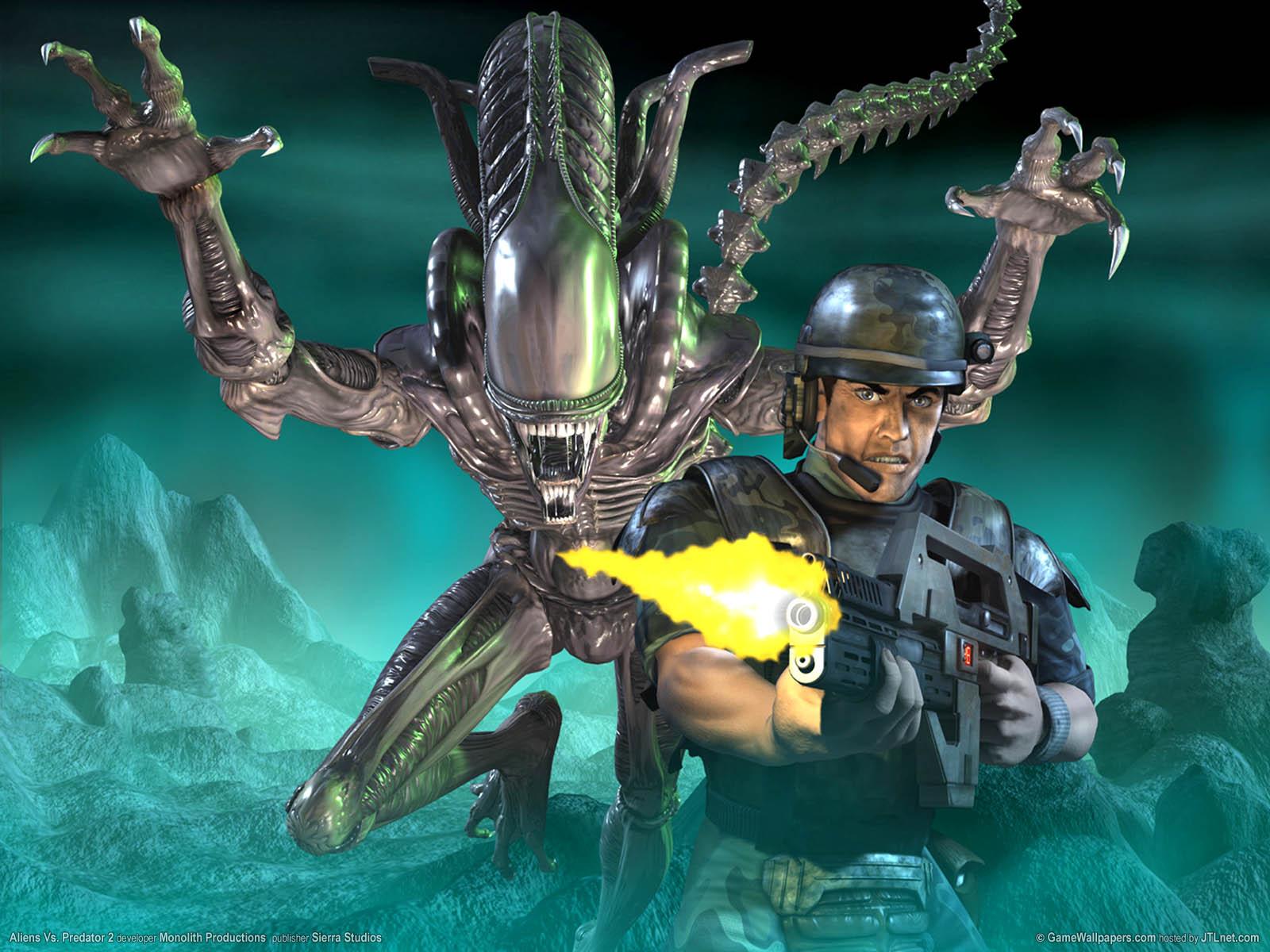 Aliens Vs. Predator 2νmmer=02 achtergrond  1600x1200