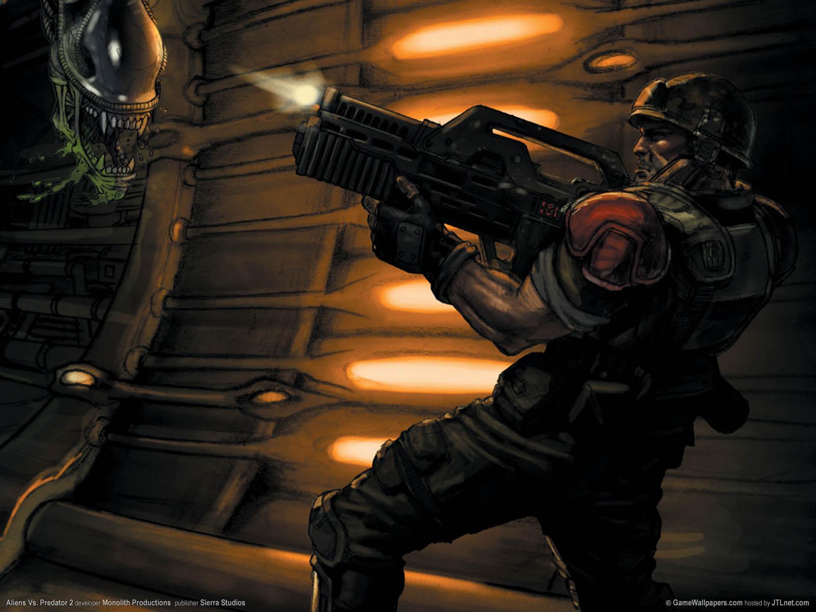 Aliens Vs. Predator 2νmmer=03 achtergrond  1600x1200