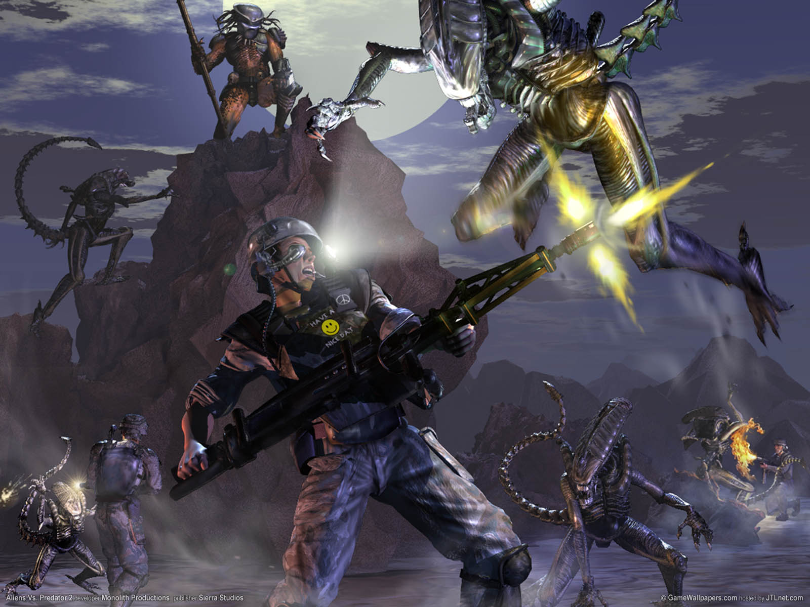 Aliens Vs. Predator 2νmmer=07 achtergrond  1600x1200