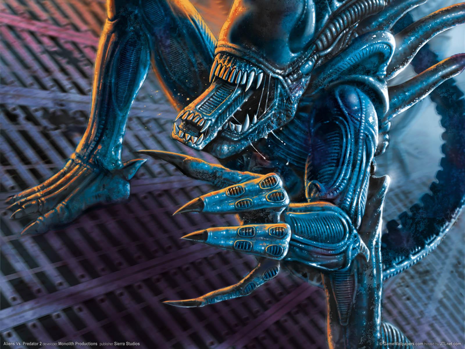 Aliens Vs. Predator 2νmmer=09 achtergrond  1600x1200