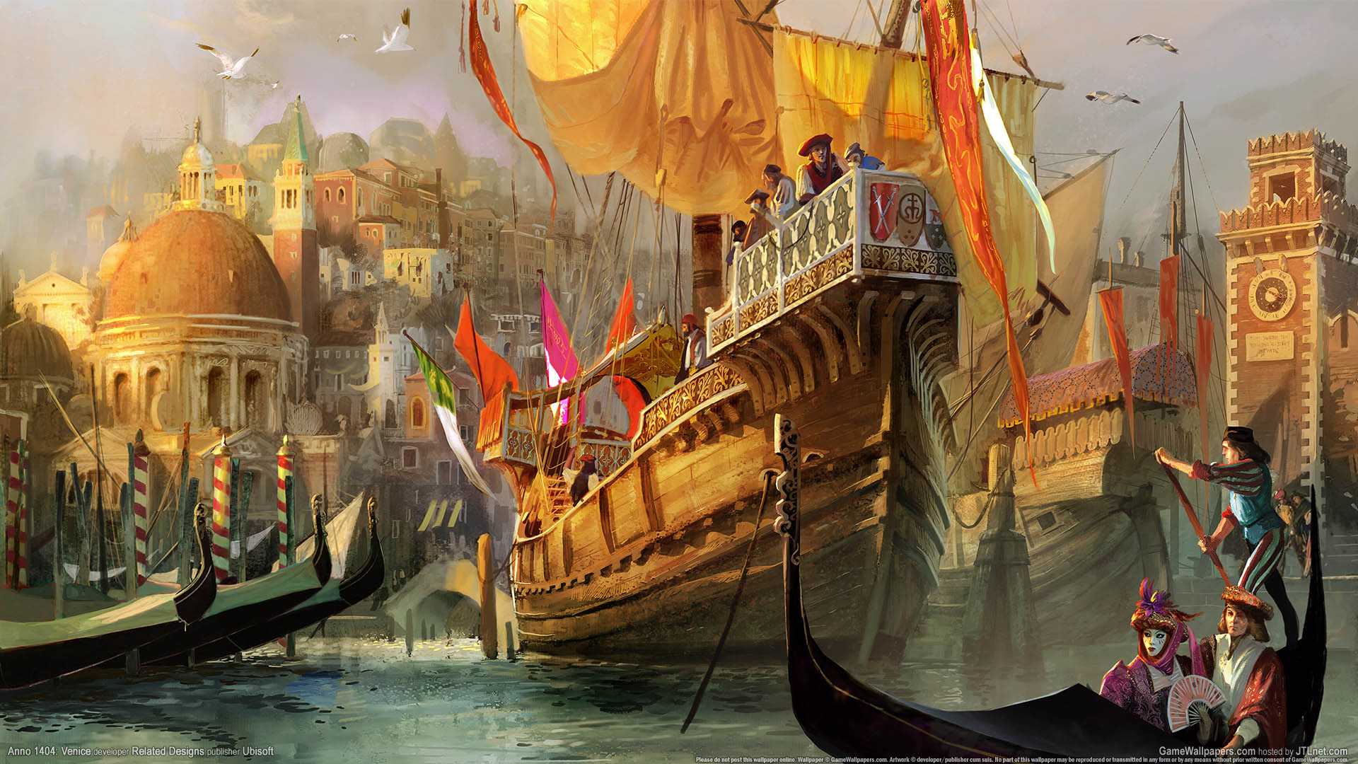 Anno 1404: Venice wallpaper 02 1920x1080
