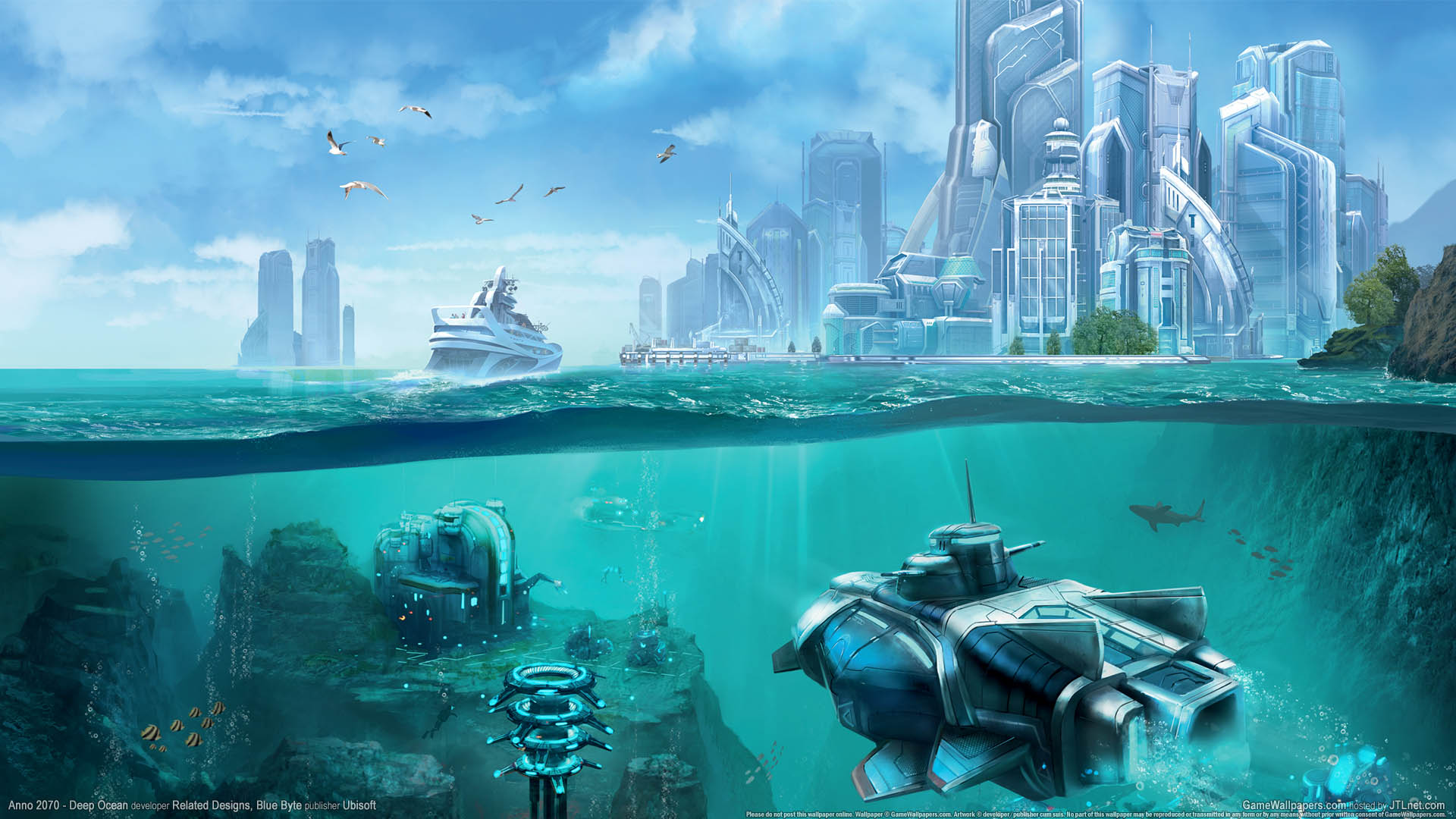 Anno 2070 - Deep Ocean Hintergrundbild 03 1920x1080