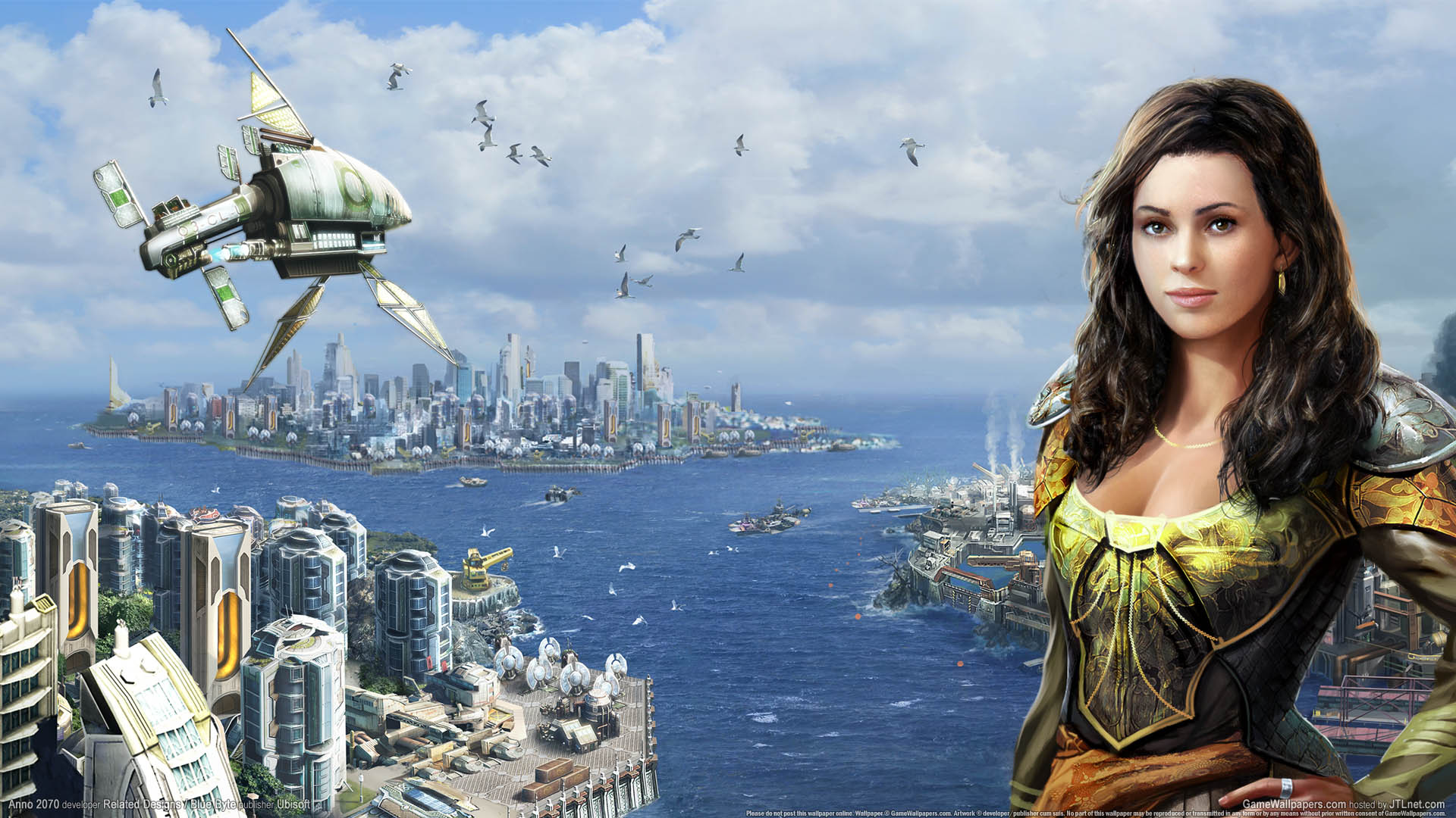 Anno 2070 wallpaper 01 1920x1080