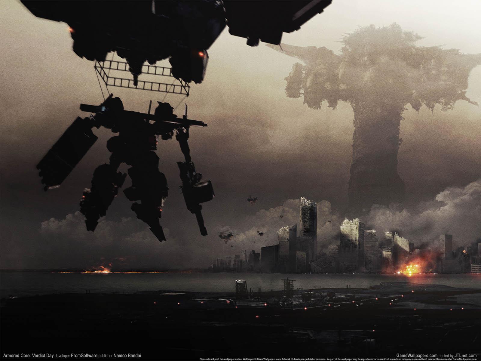 Armored Core: Verdict Dayνmmer=01 achtergrond  1600x1200